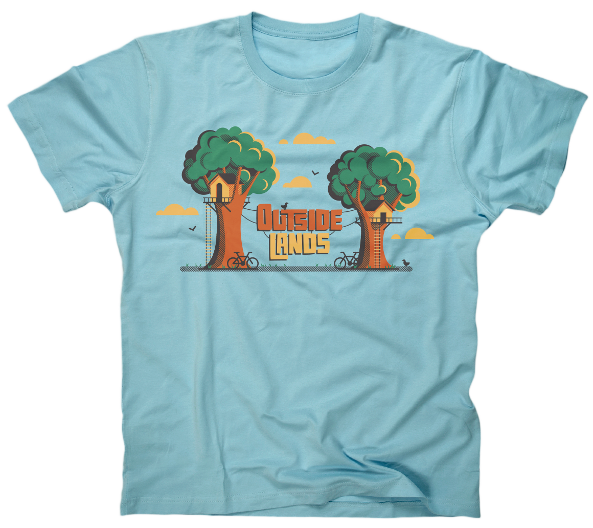 Outside Lands Shirt by DKNG