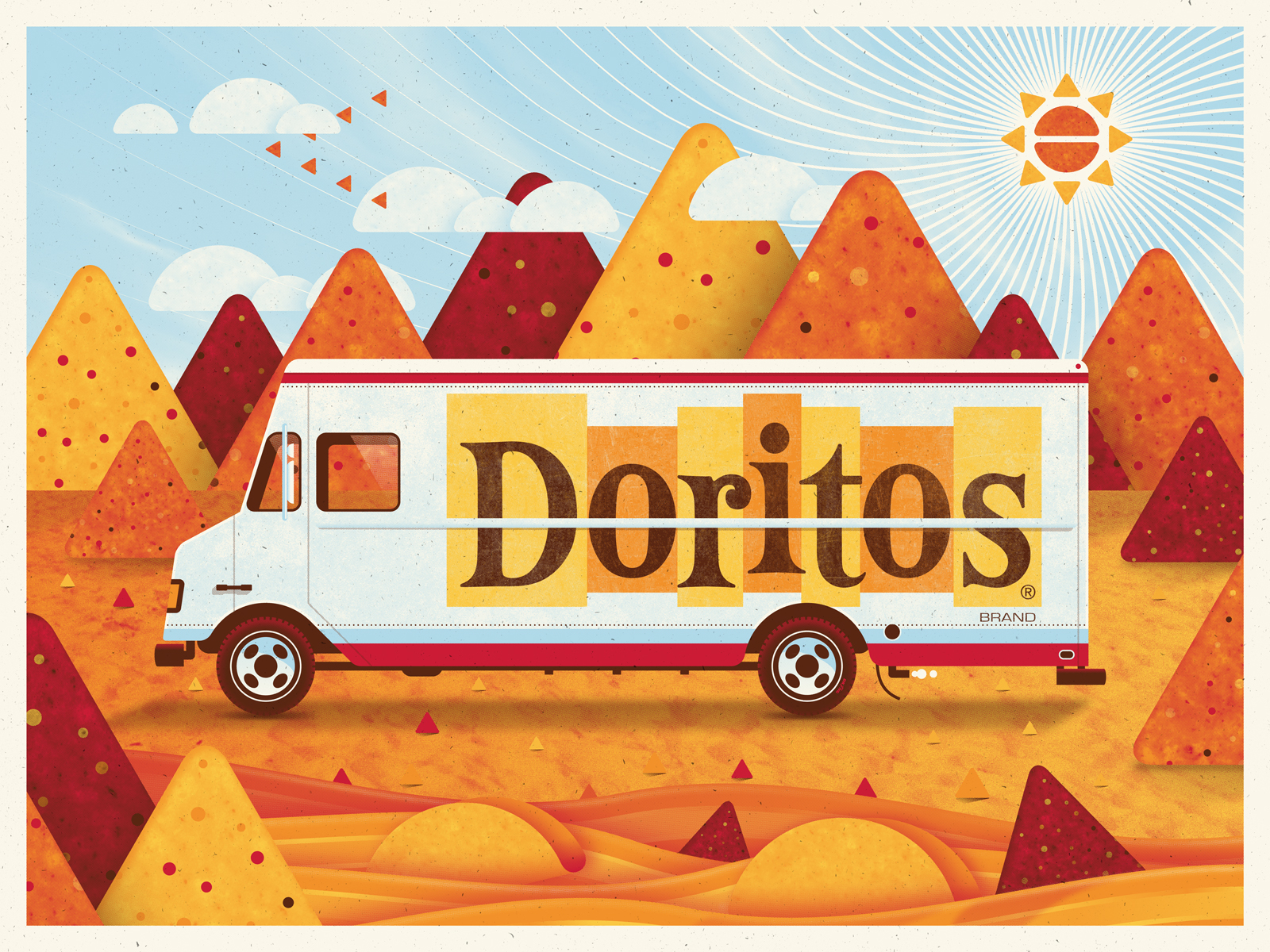 Doritos Art Print by DKNG