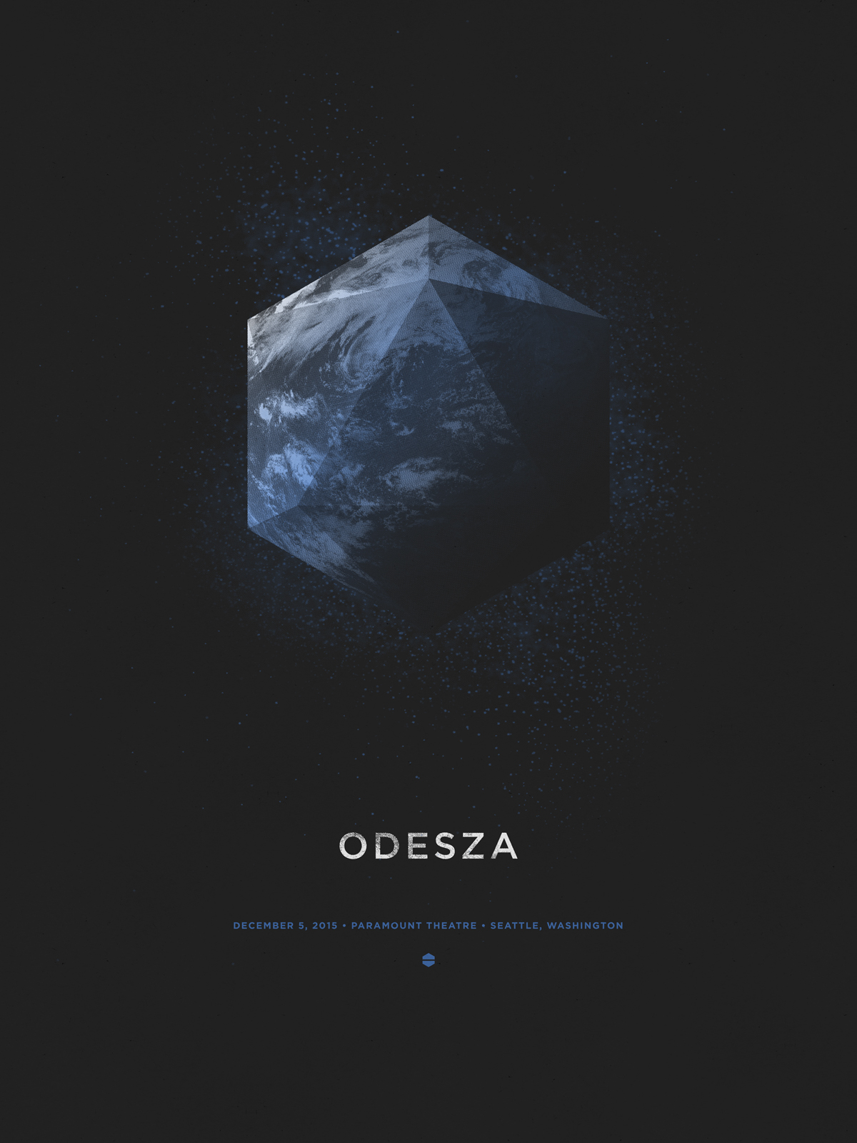 Odesza Poster by DKNG