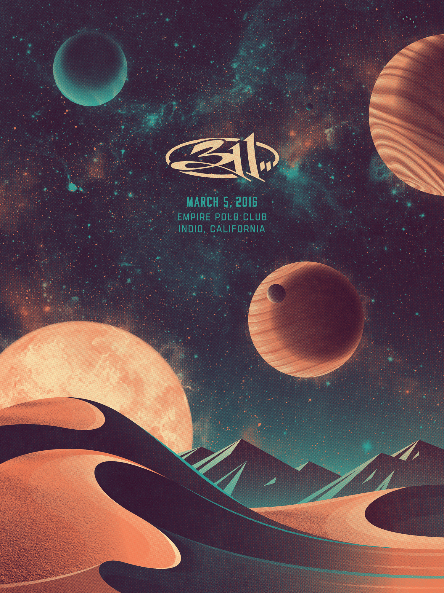 311 Poster (March 5, 2016)