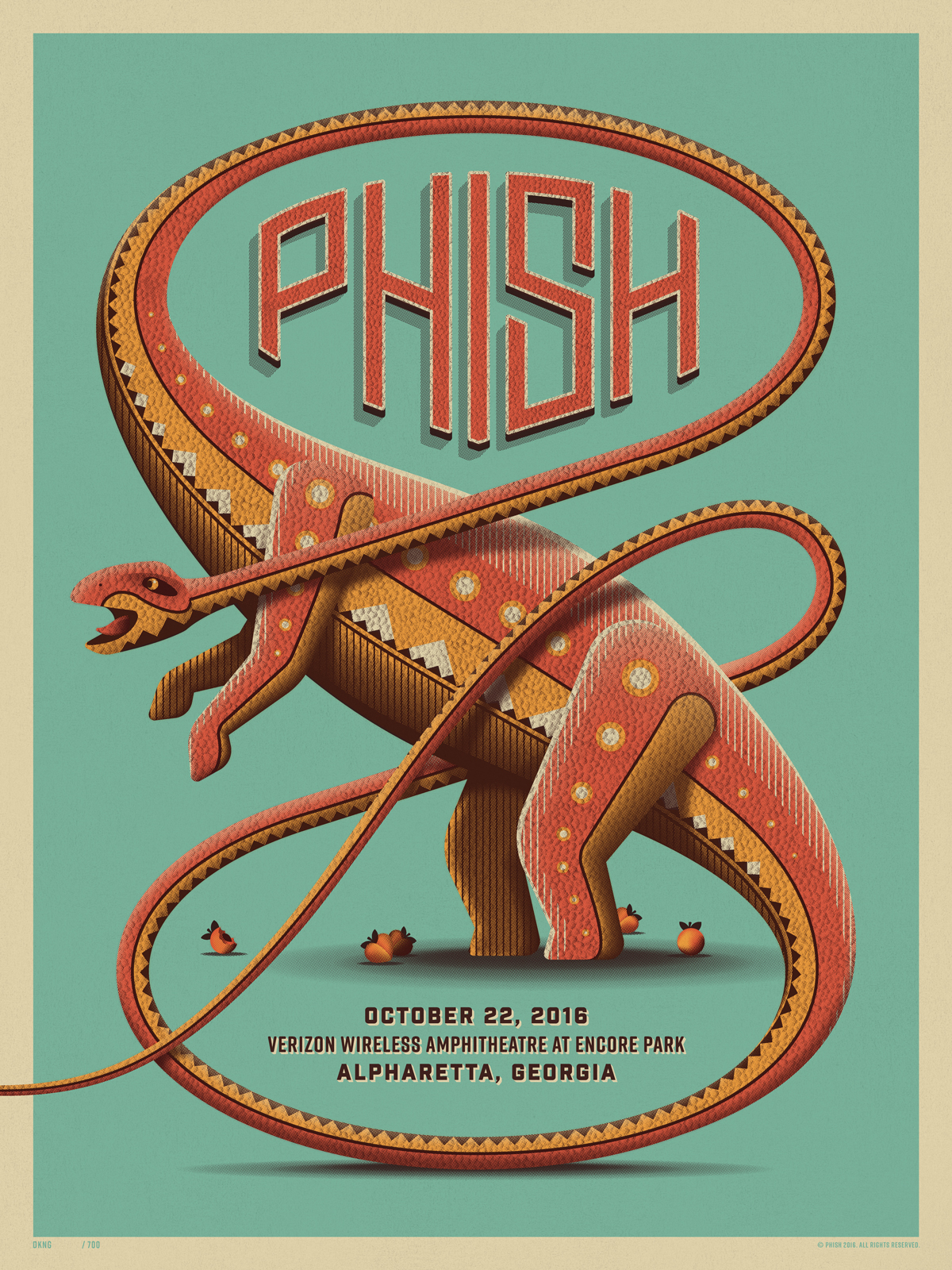 Phish Alpharetta, GA Posters by DKNG