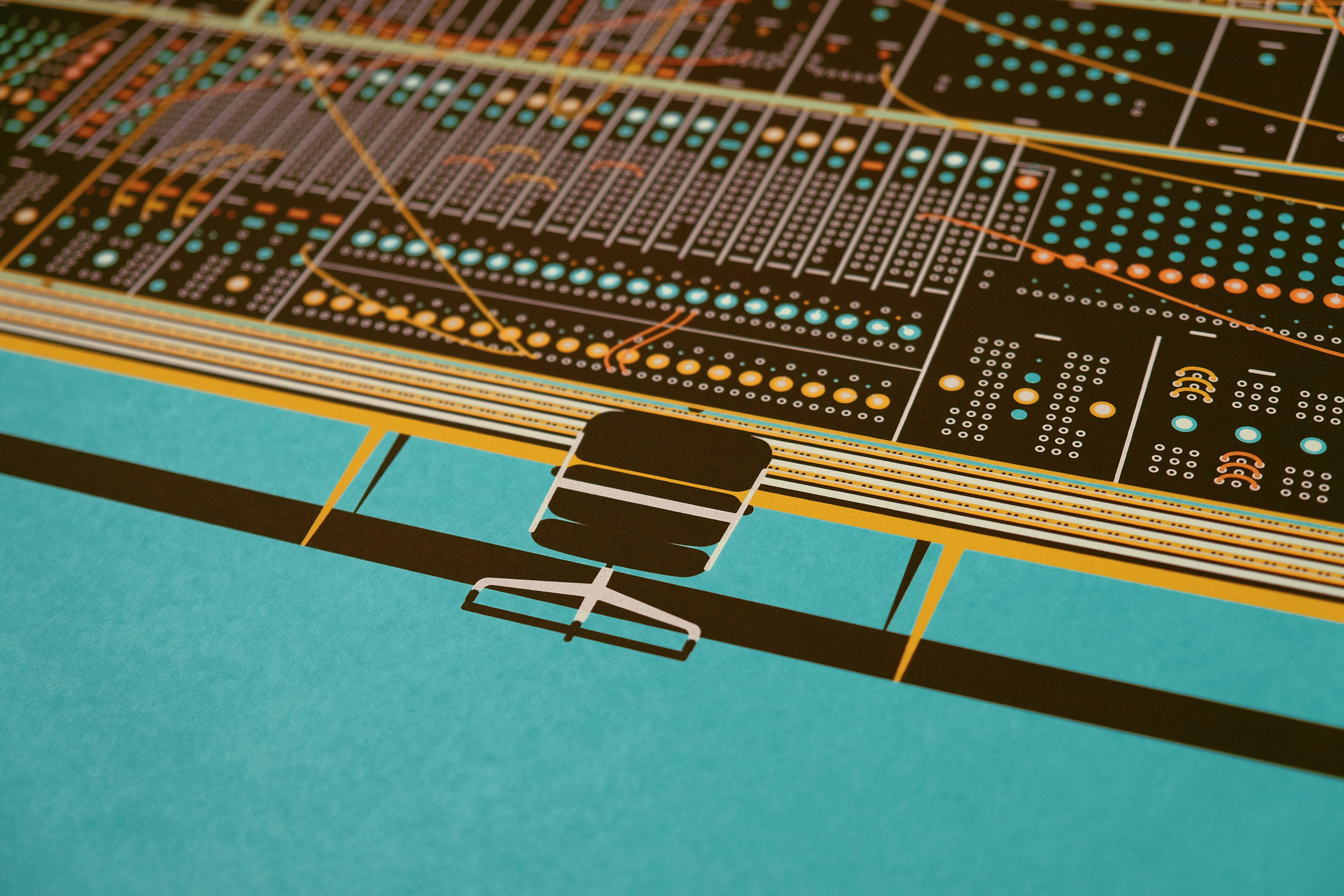 Moog Console by DKNG