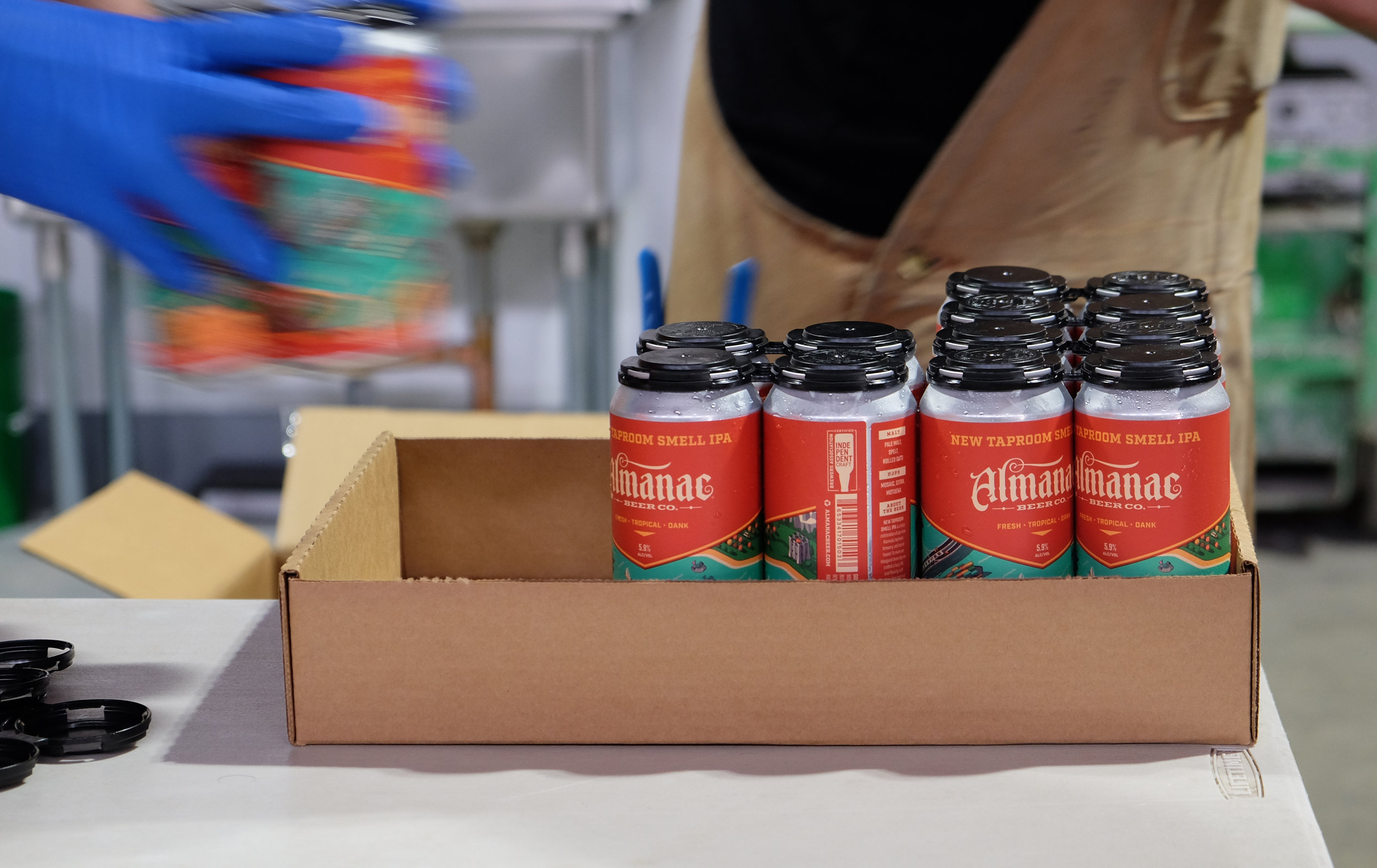 New Taproom Smell IPA Can Design by DKNG