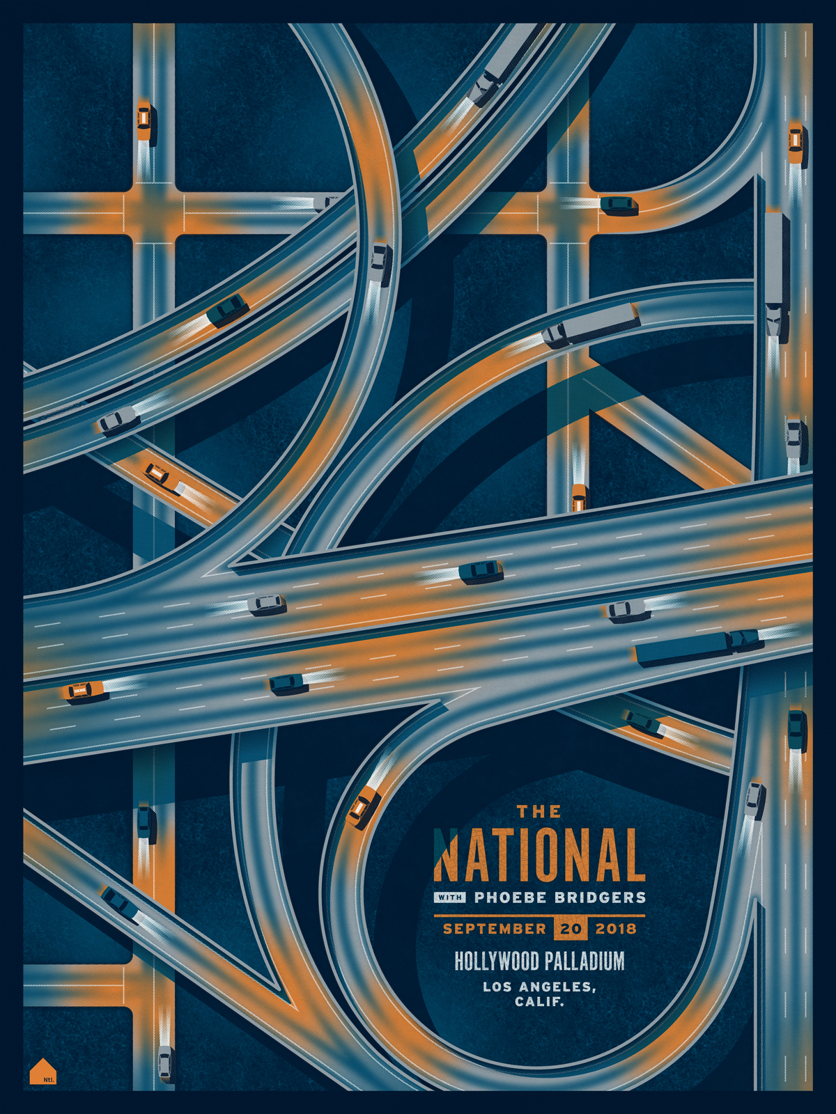 The National Posters by DKNG