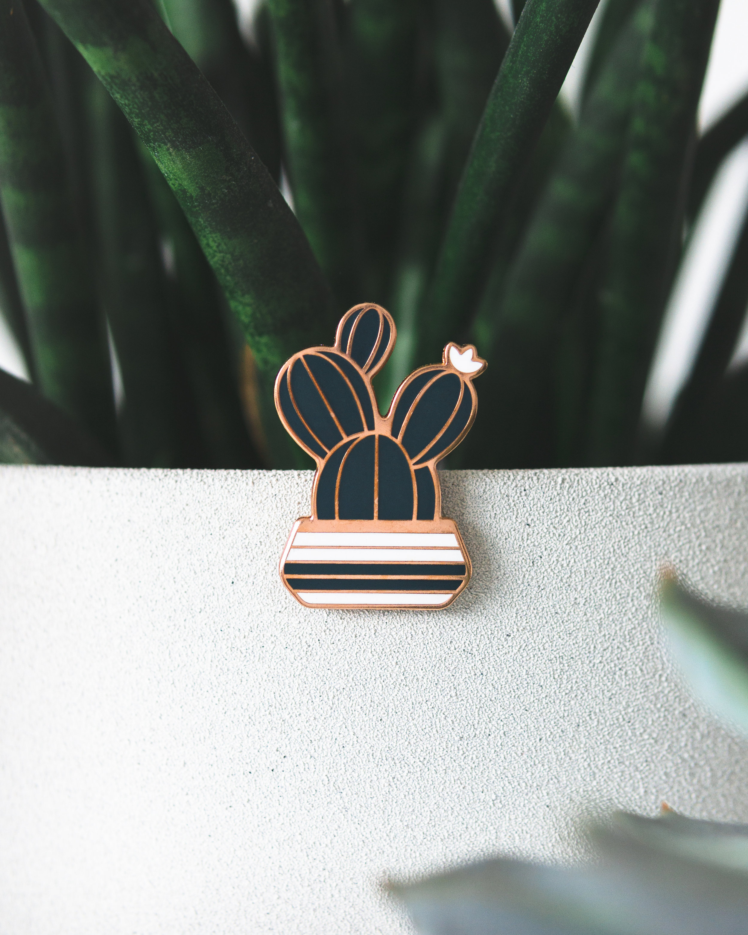 Prickly Pear Pin by DKNG