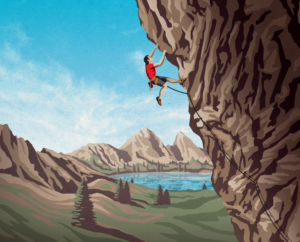 Clif Bar Illustrations by DKNG