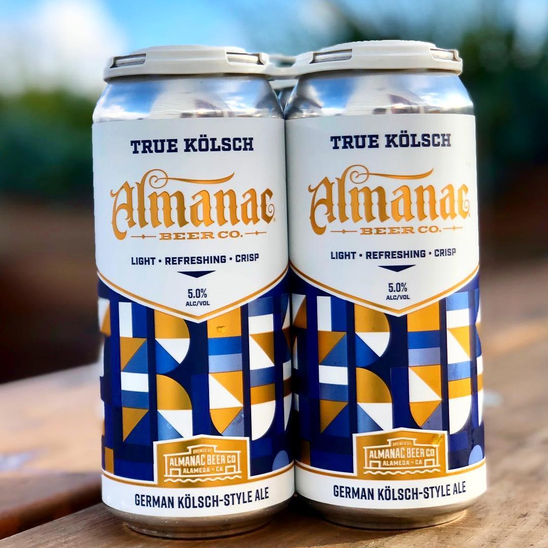 Almanac Beer Co. True Kolsch label by DKNG