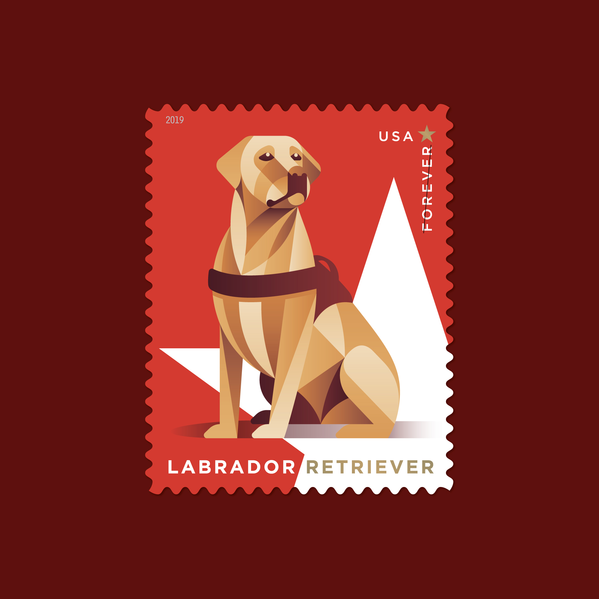 USPS Military Working Dogs Postage Stamps