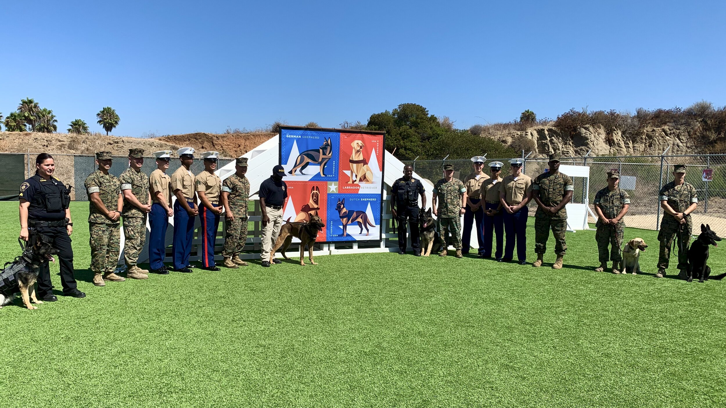 Military Working Dogs Stamp Release Ceremony