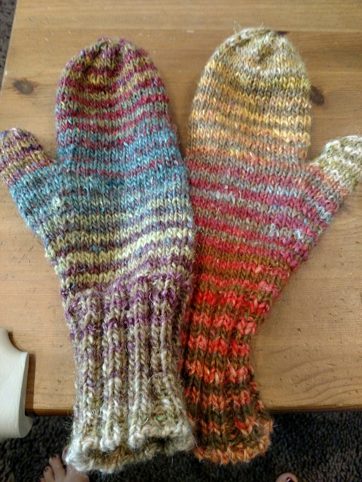 matching not matching mittens