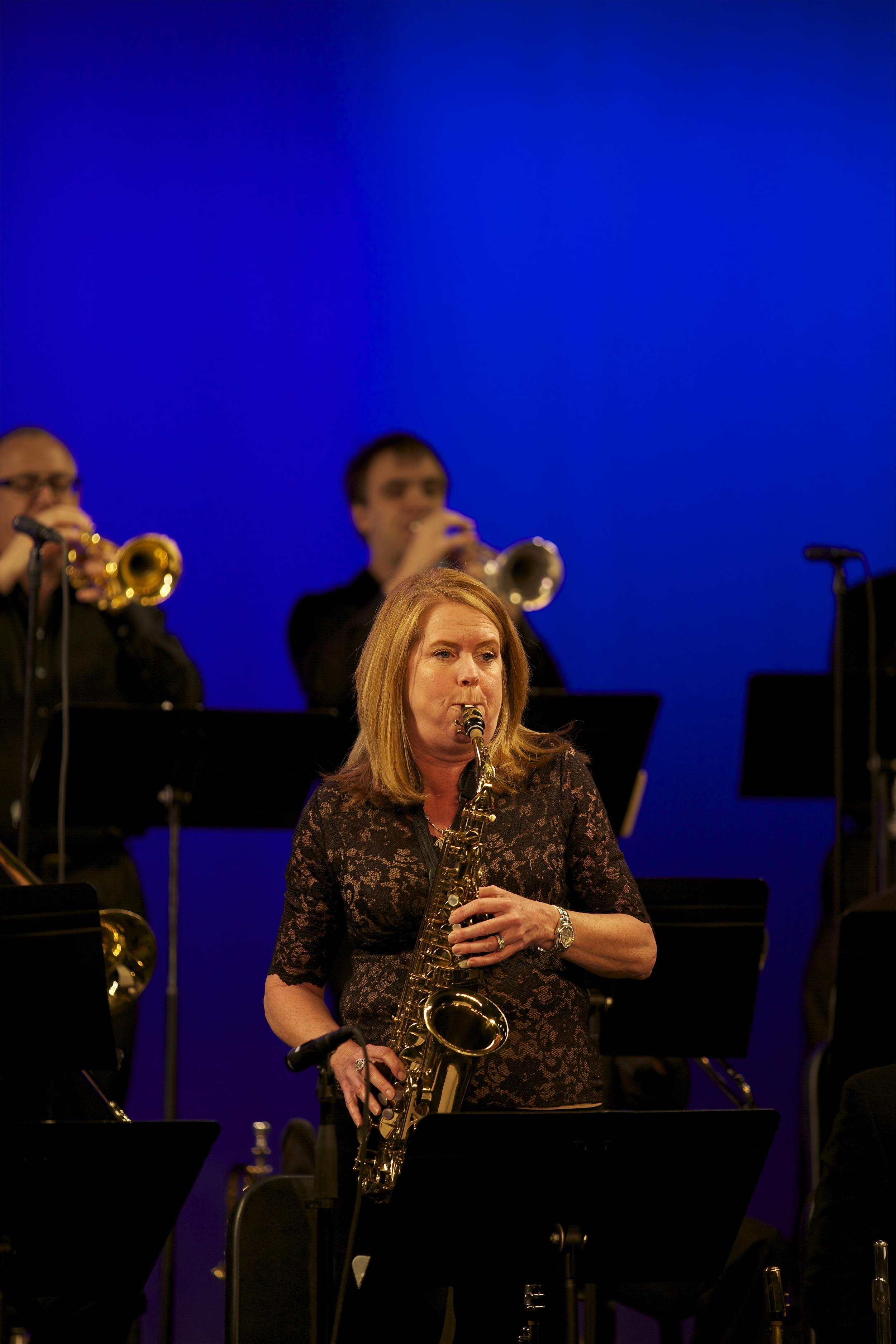 Lori Risse, alto saxophone