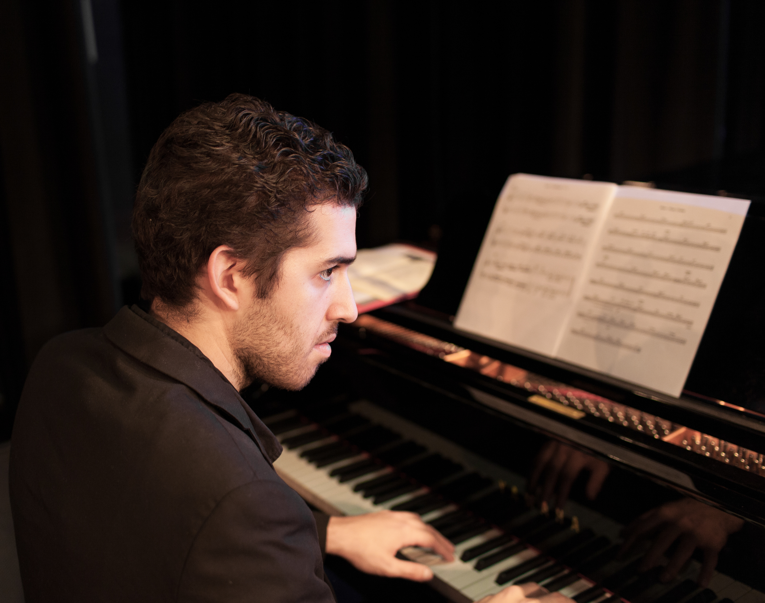Rich Brown, piano