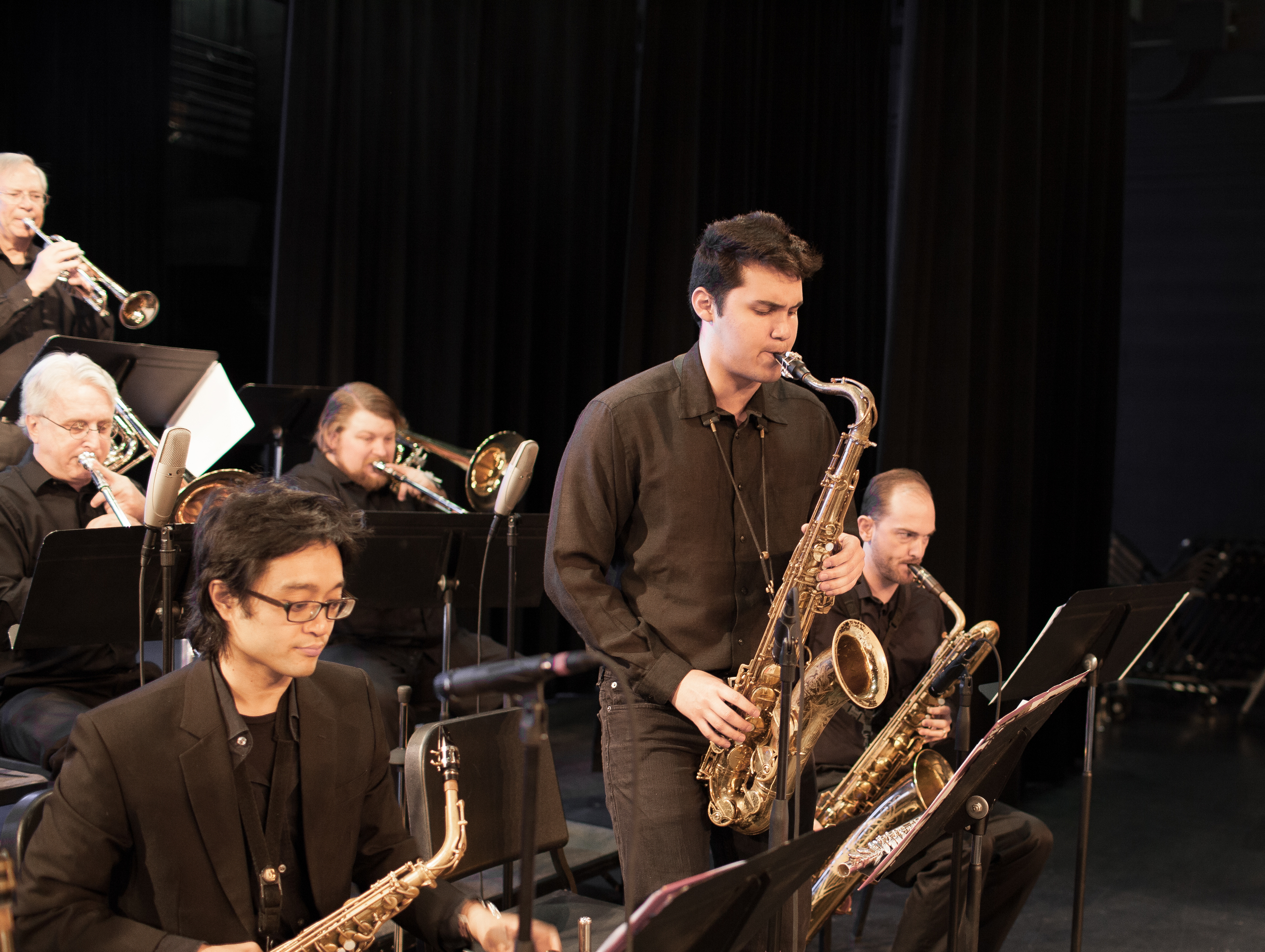 Eddie Pimentel, tenor saxophone