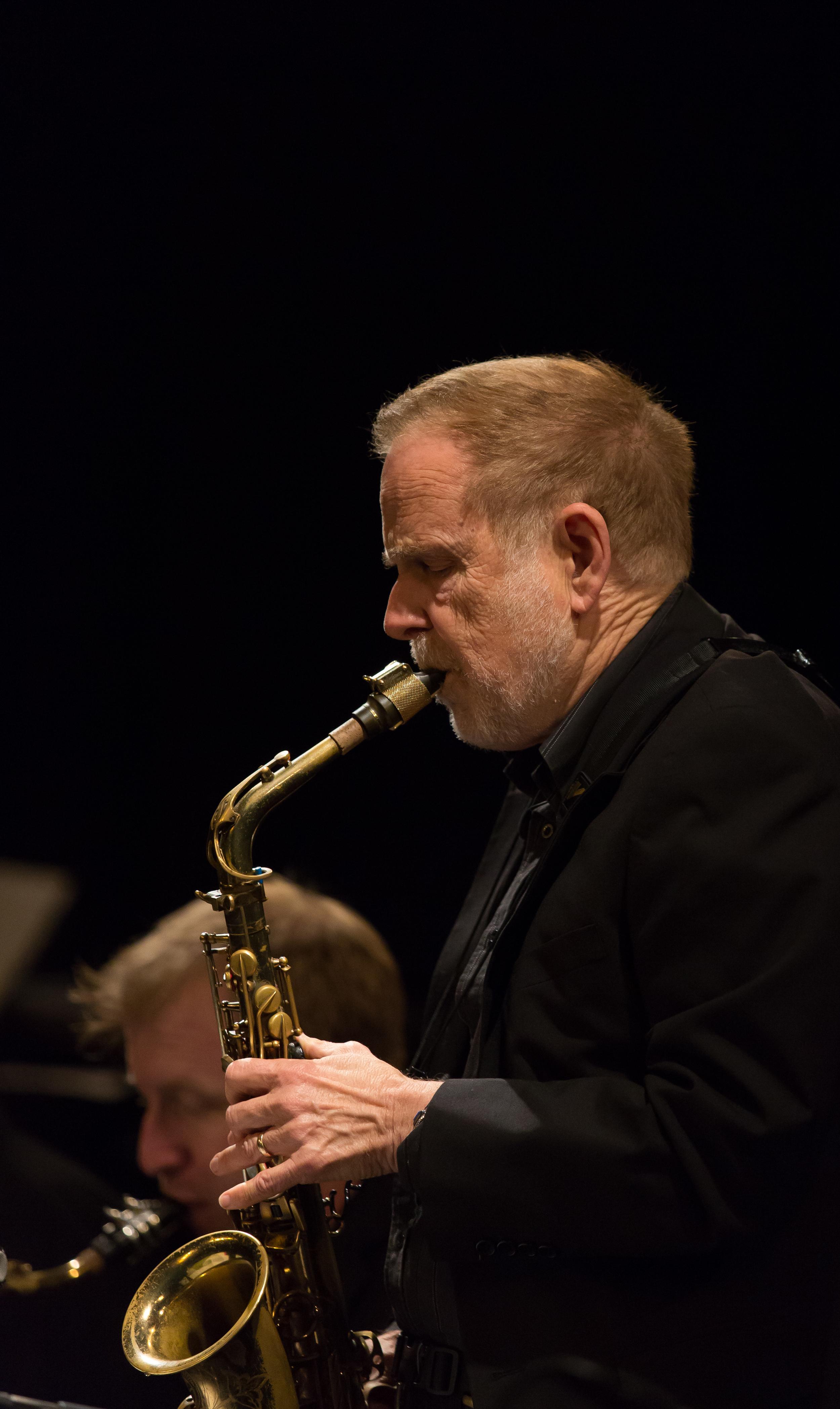 Kim RIchmond, alto sax