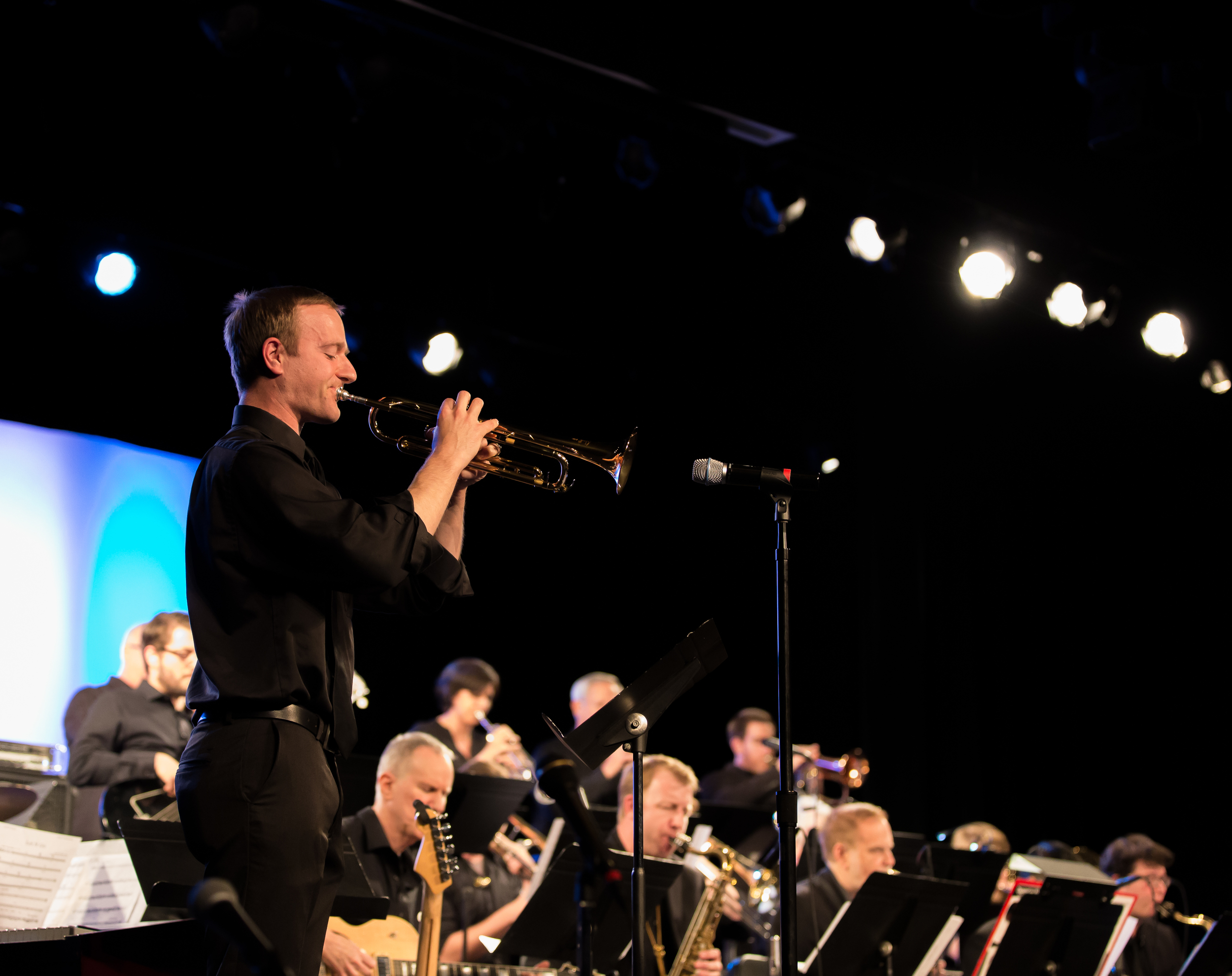 James Blackwell, trumpet