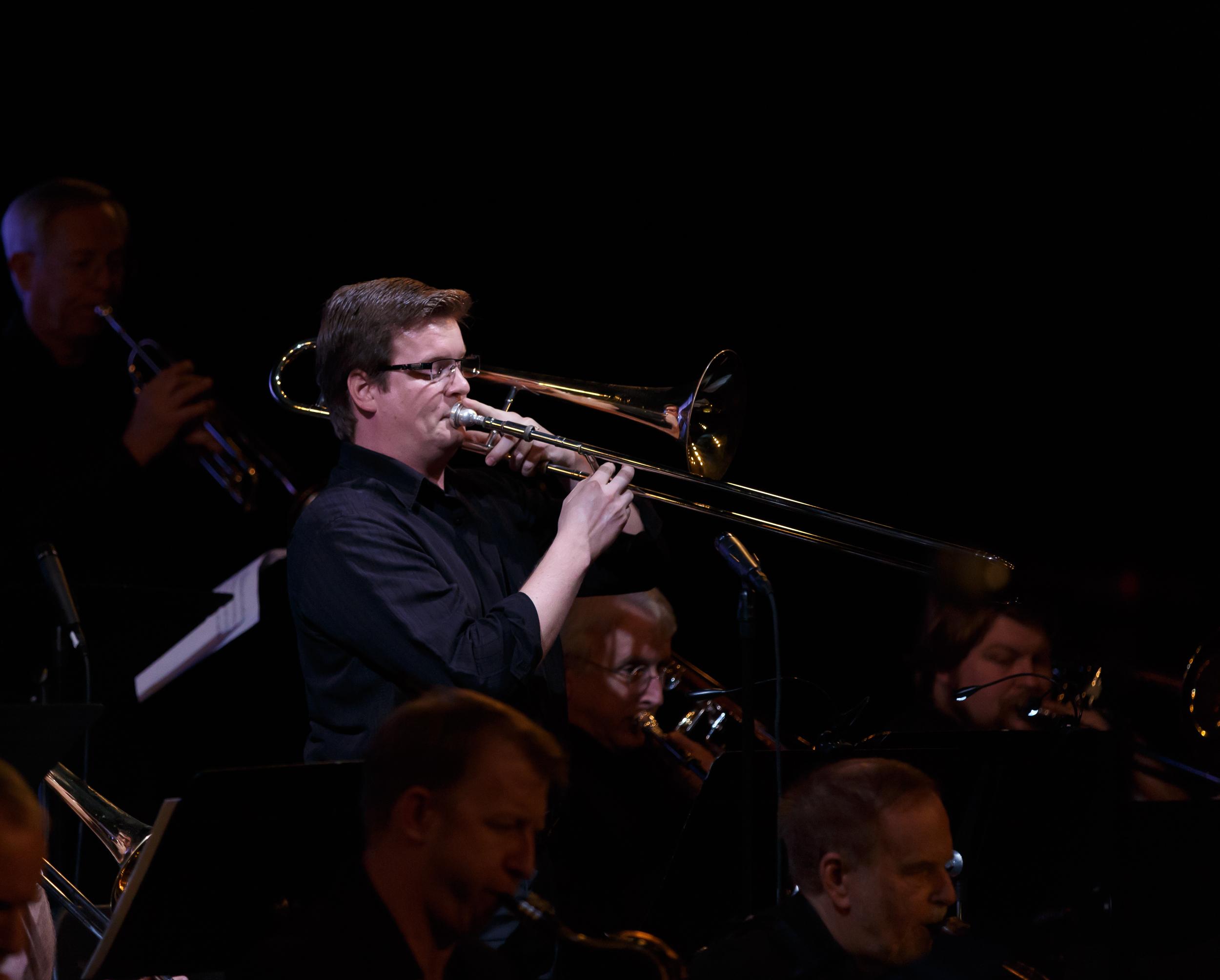 Harrison Kirk, trombone