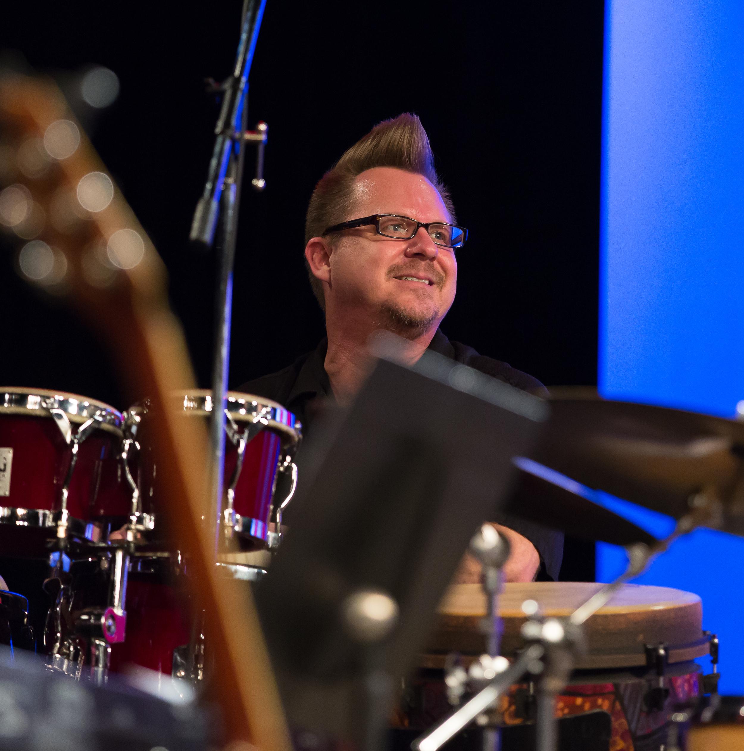 Roger Johnson, percussion
