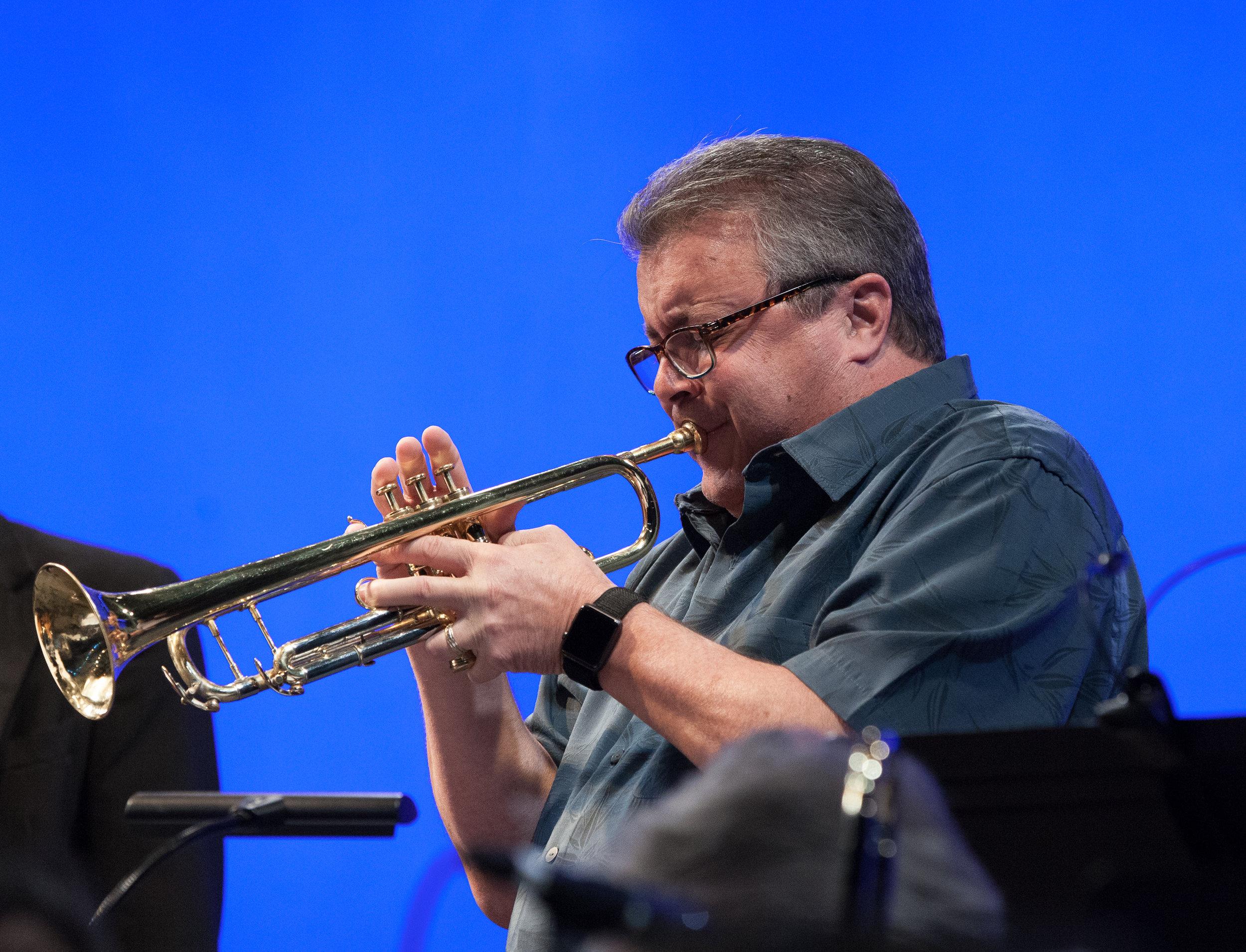 Tom Marino, trumpet
