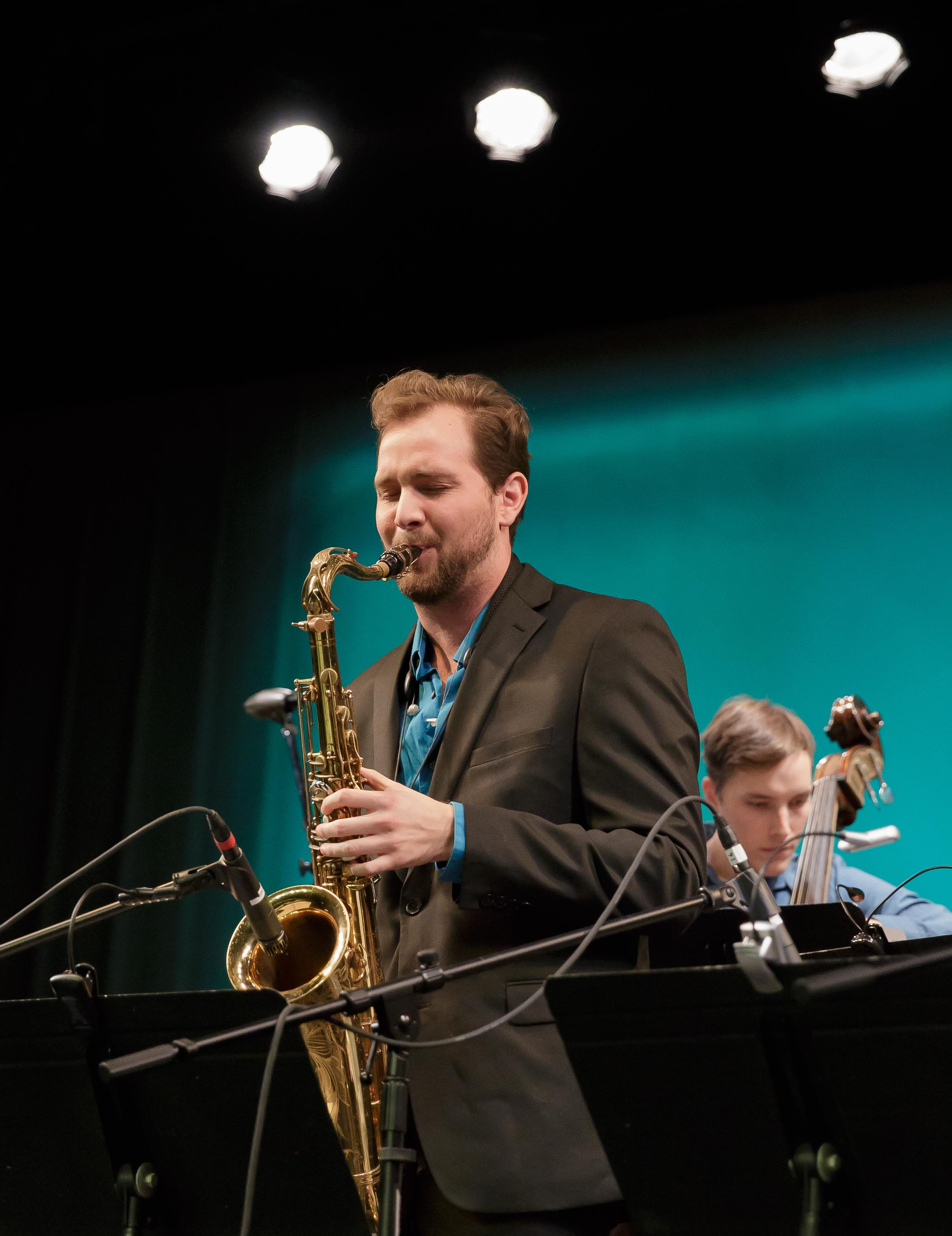 Garrett Becker, tenor sax