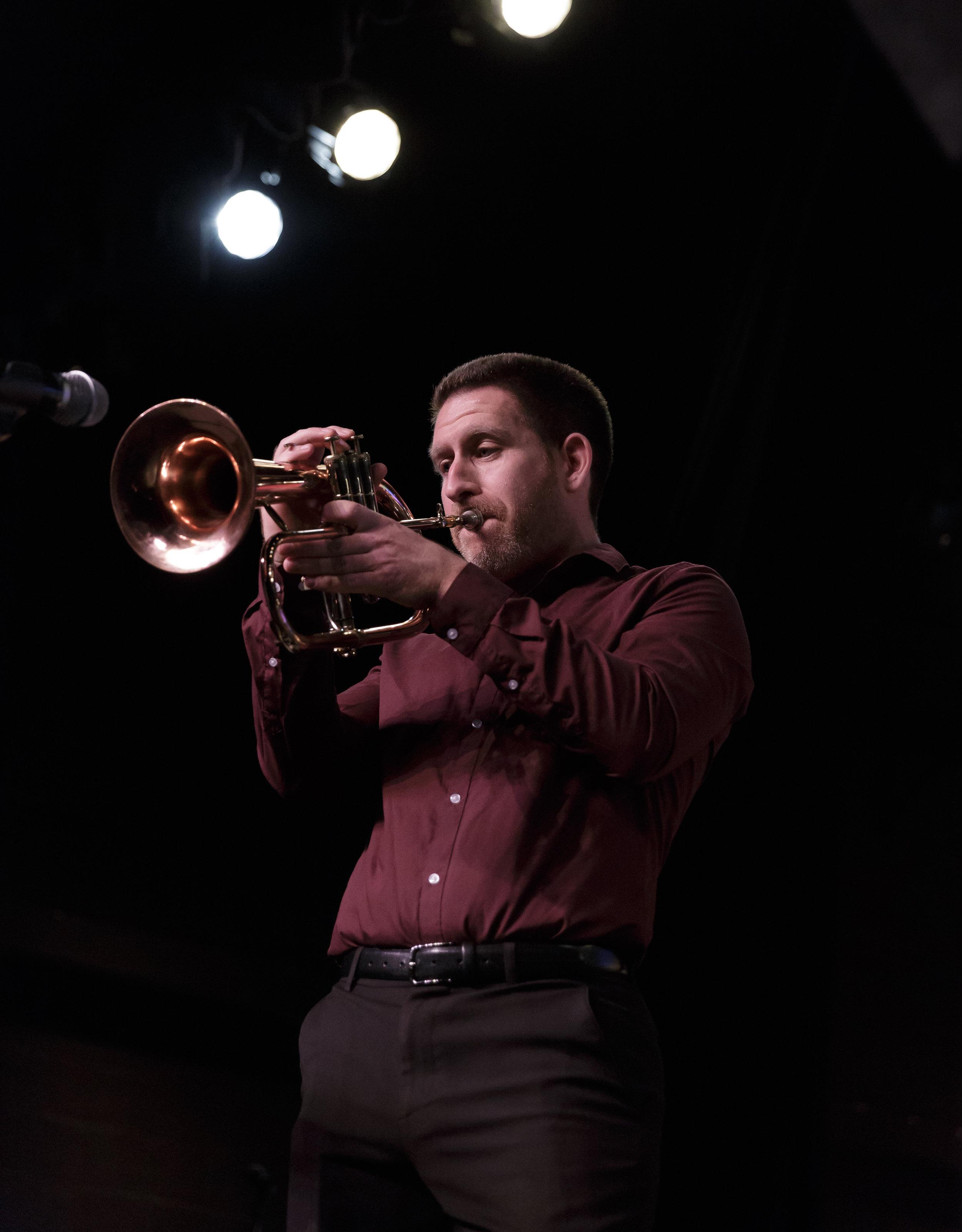 Brian Leff, trumpet