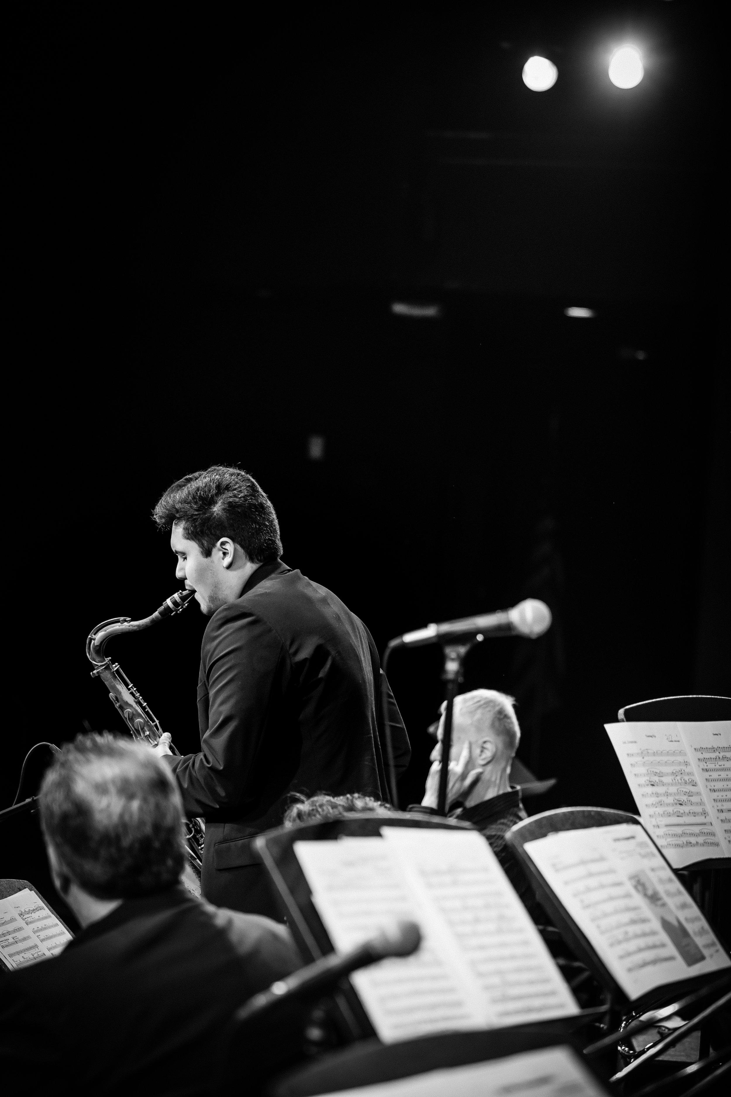 Eddie Pimentel, tenor sax