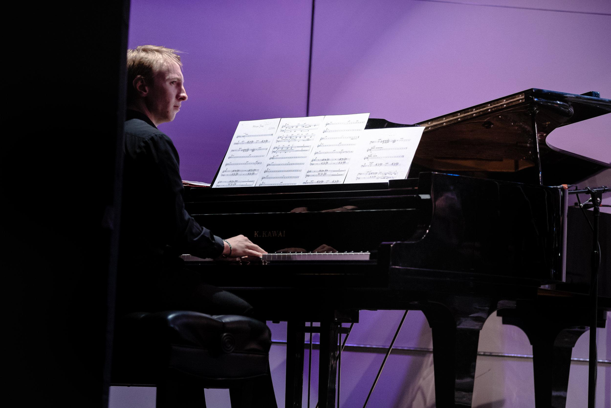 James Morgan, piano
