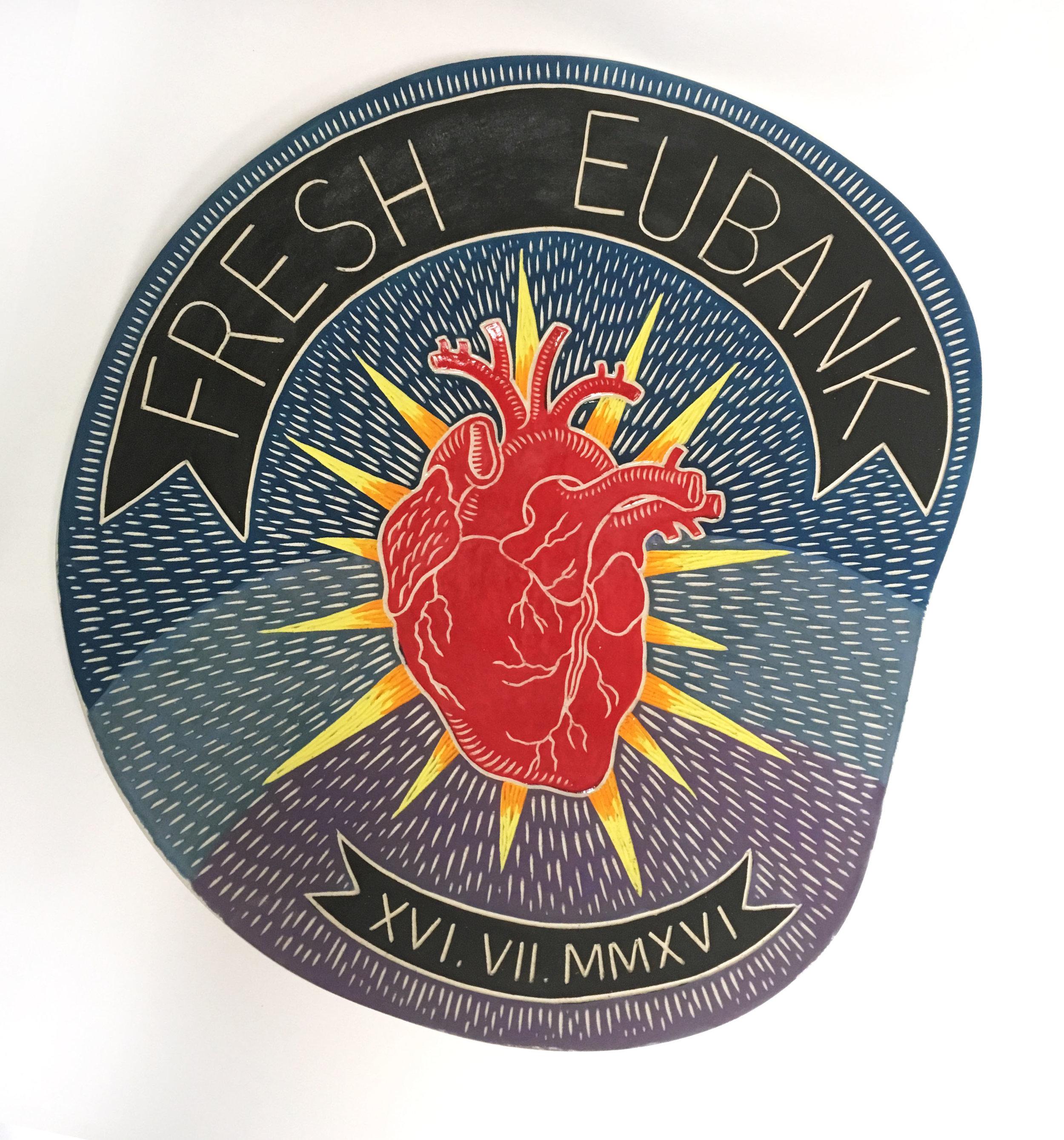 Fresh-Eubank wedding platter, 2016