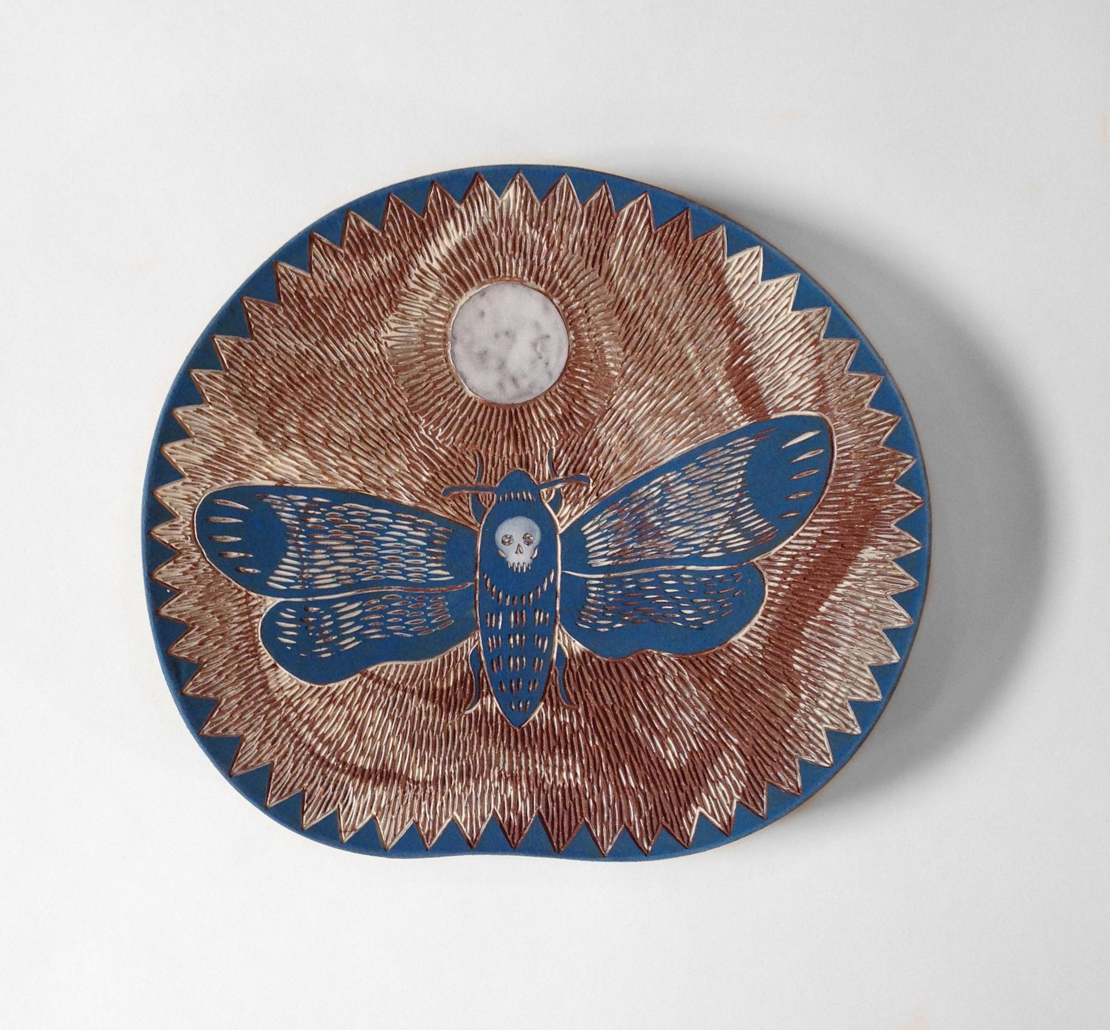Moth platter