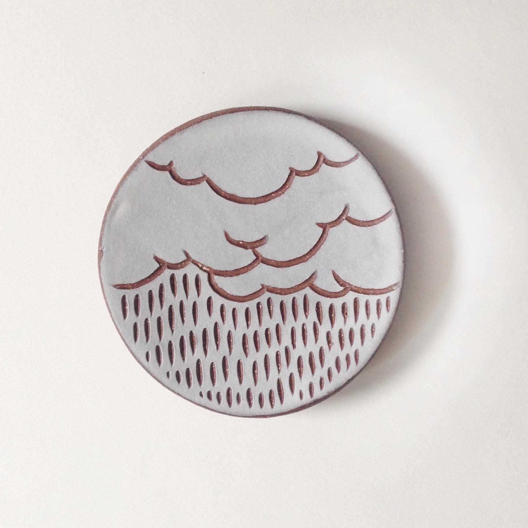 Cloud ring dish