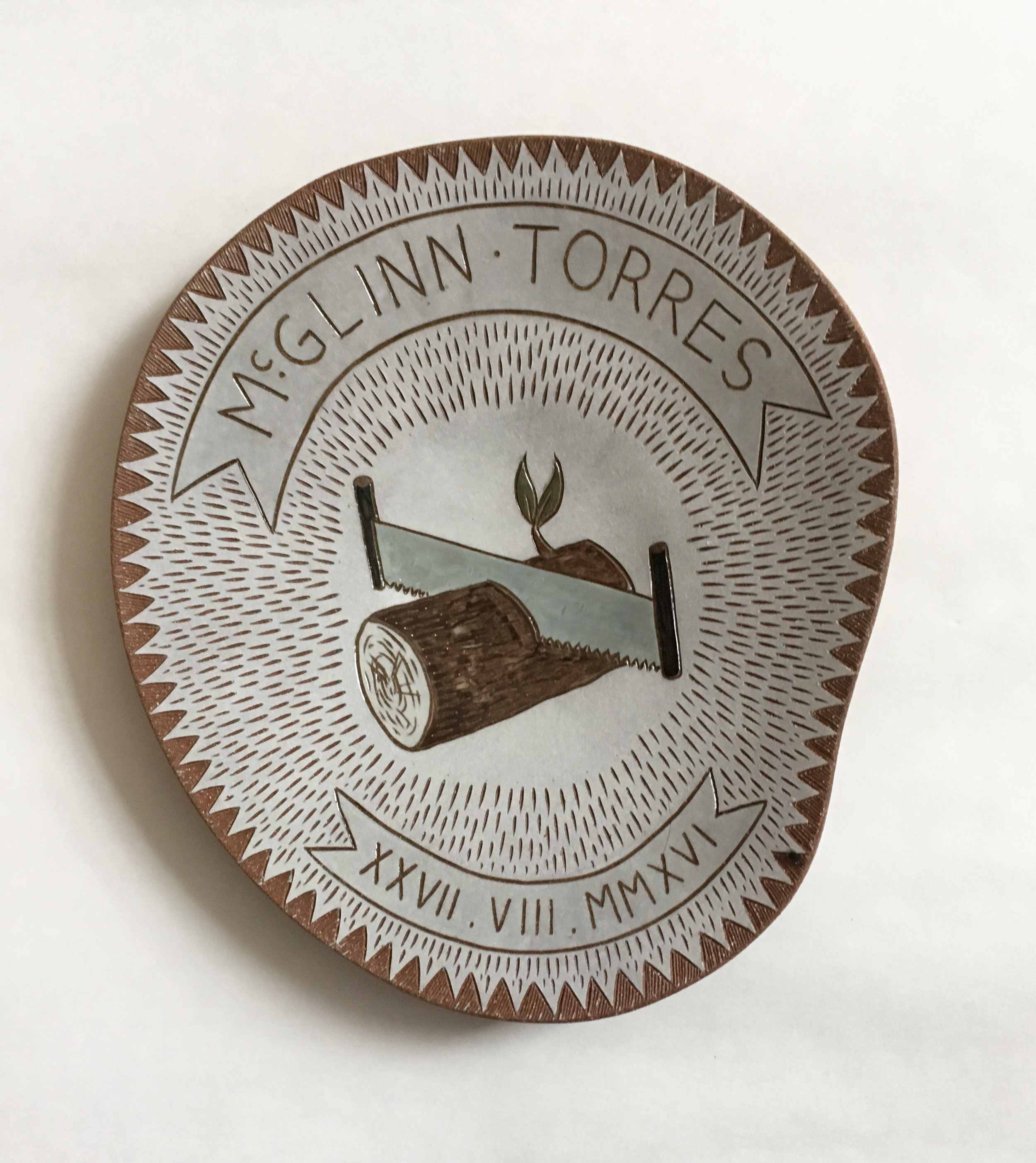 McGlinn - Torres Wedding Platter, 2016