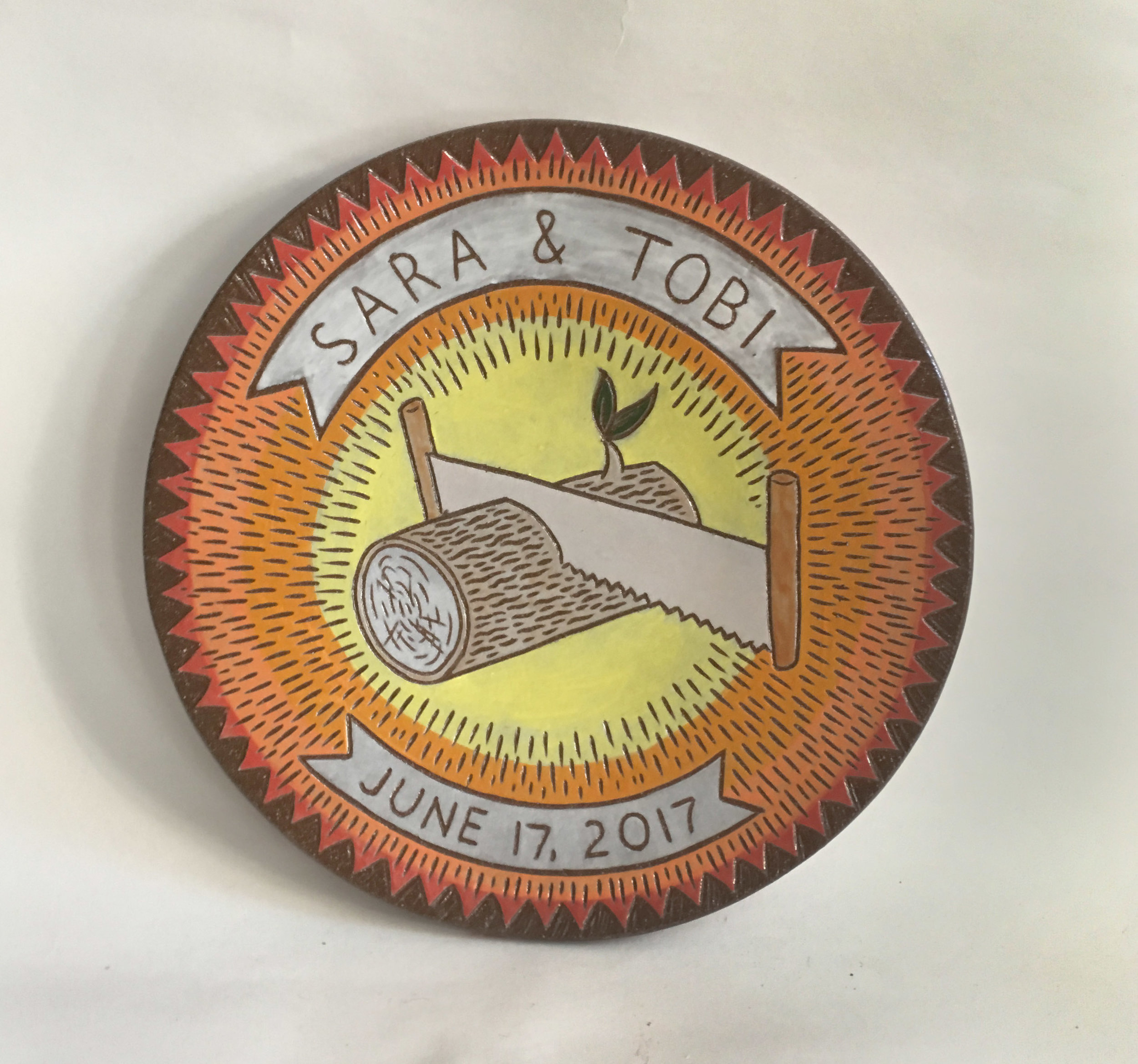 Sara & Tobi platter, 2017