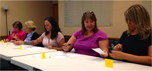 Executives and clinicians at the Addiction Recovery Center of Medford, Oregon learn to optimize client flow through various treatment programs.