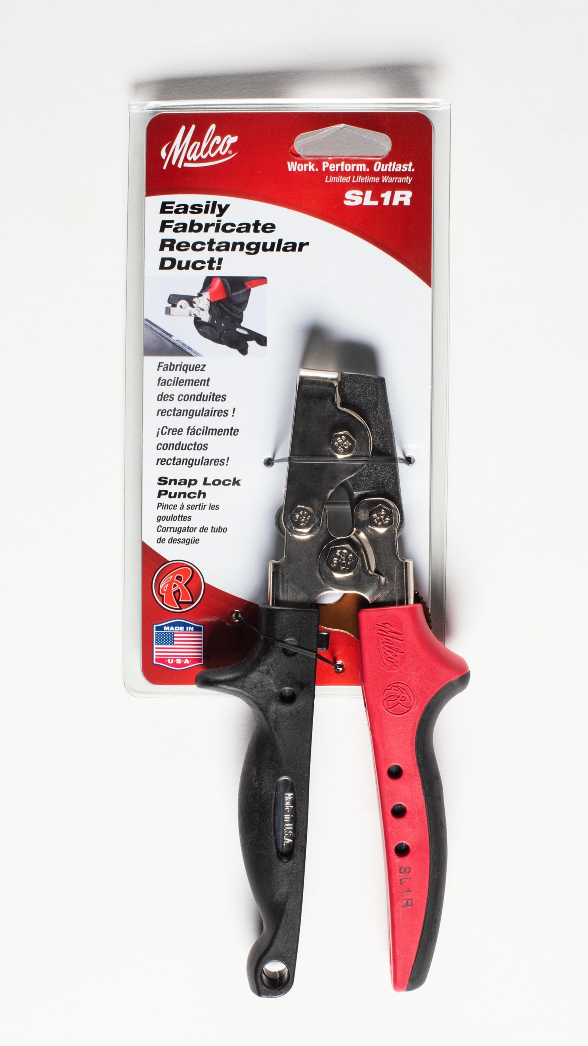 Snap Lock Punch  Malco SL1R