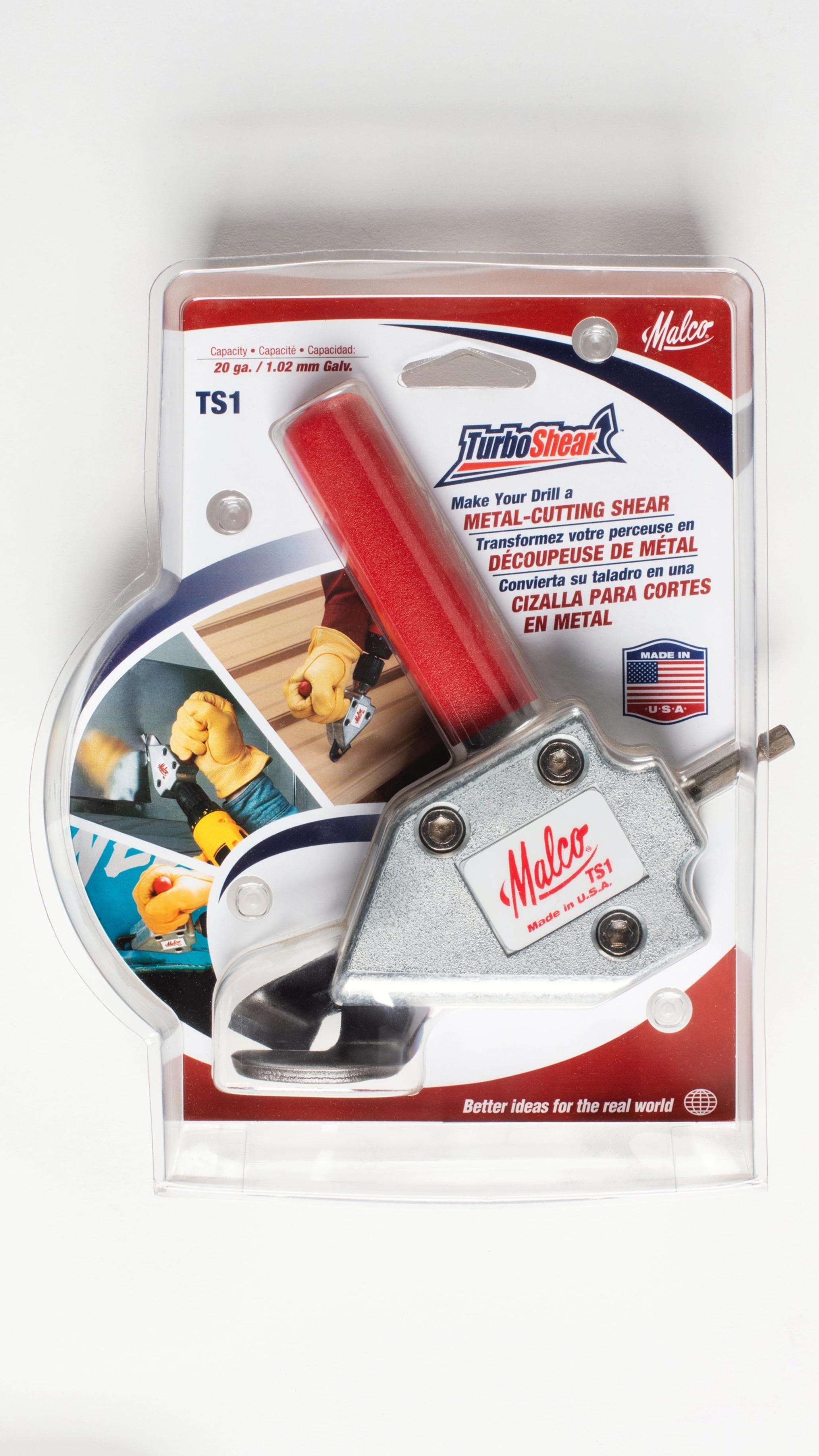 Malco TS1 Turbo Shear Metal Cutting Shear