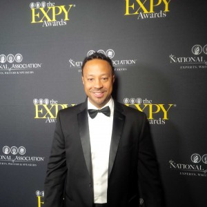 Gerald awarded the  EXPY® Award  for Outstanding Public Speaking in NYC's Time Square.