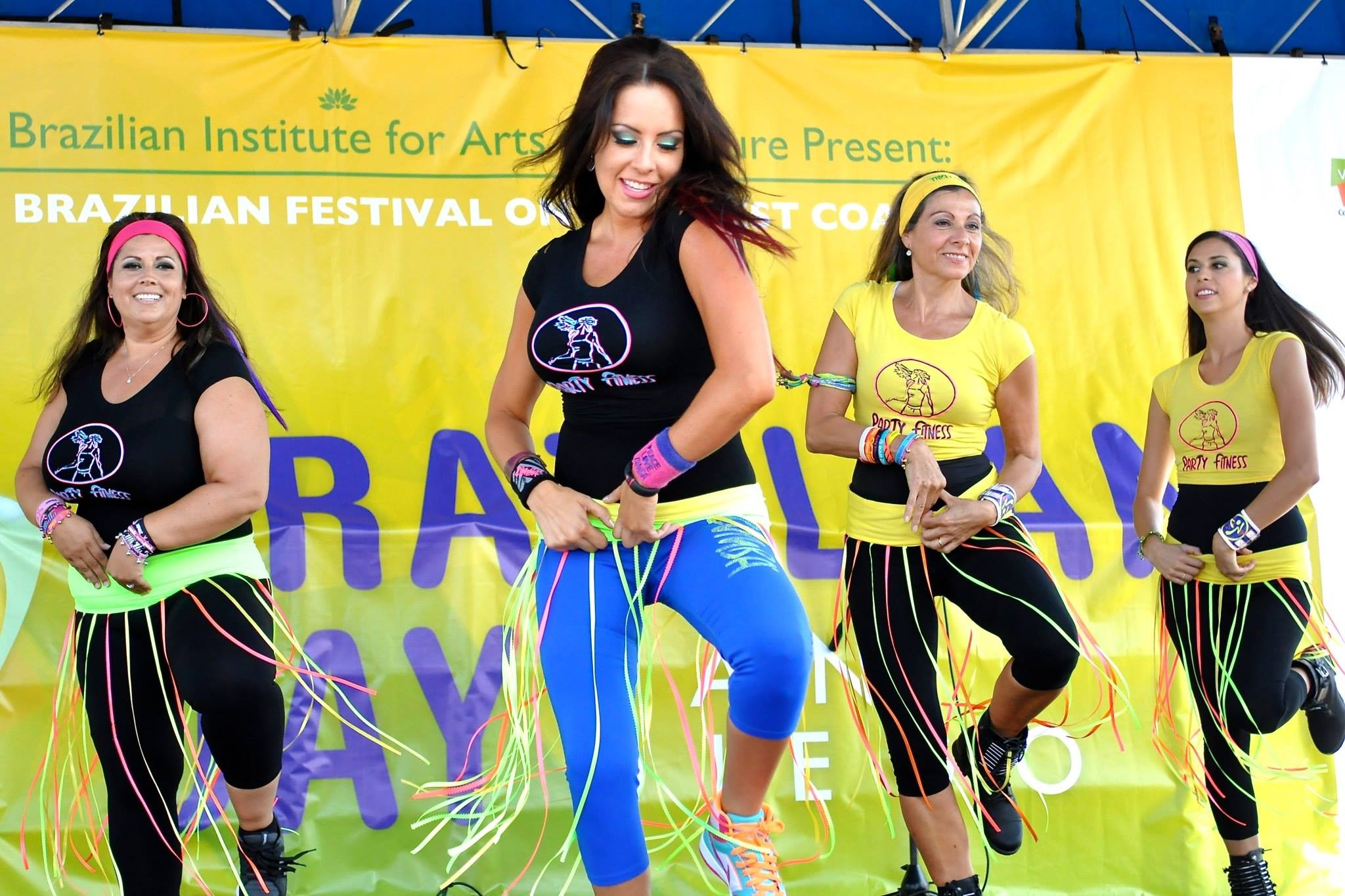 Party Fitness at the Brazilian Festival