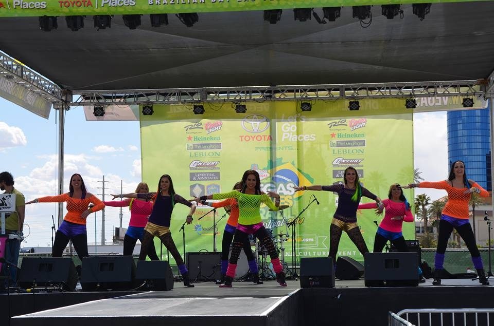 Party Fitness Performing in Las Vegas