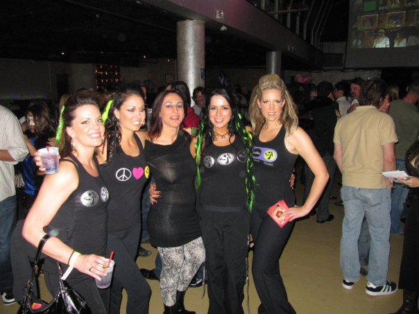 Party Fitness at The Brasilian Carnaval 4th & B Nightclub