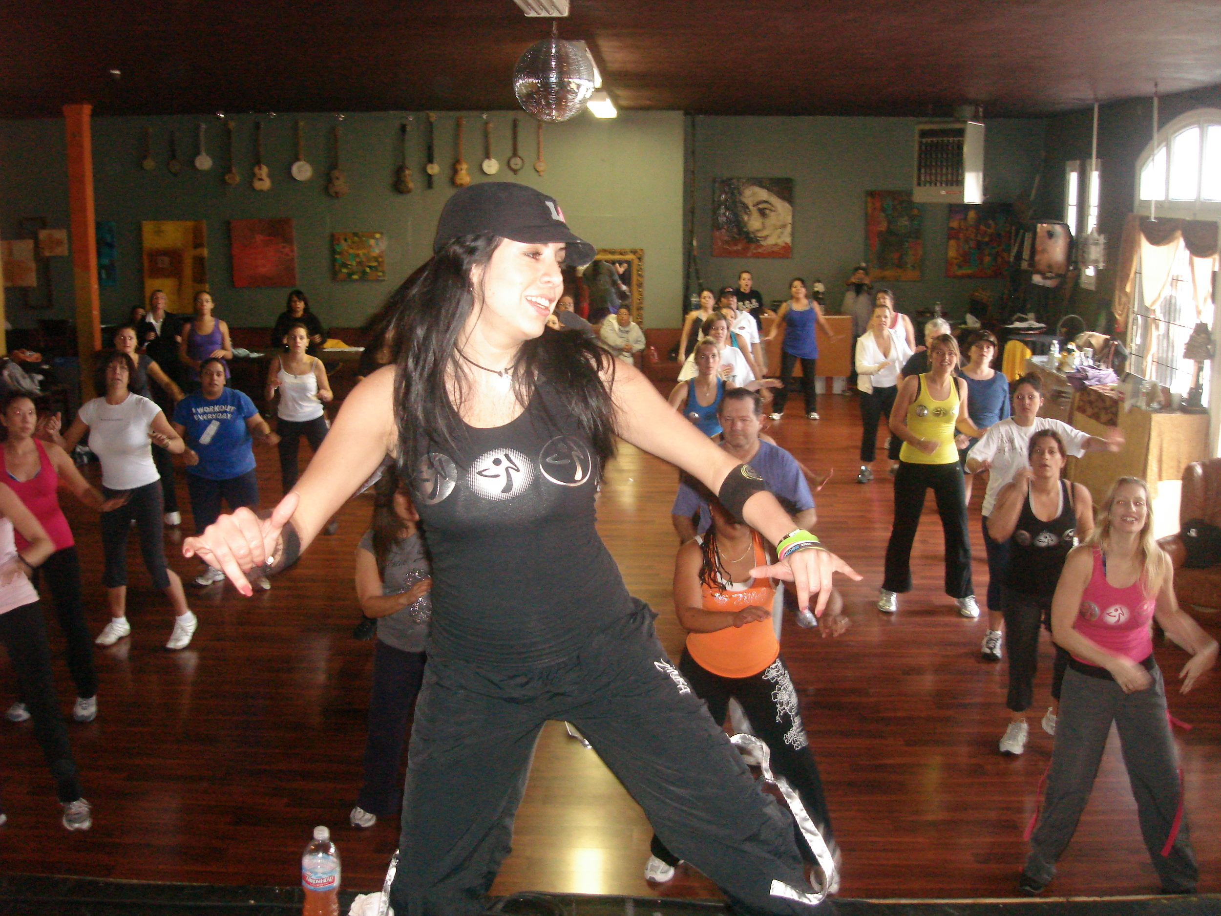 Party Fitness at Queen Bee's Foundraiser