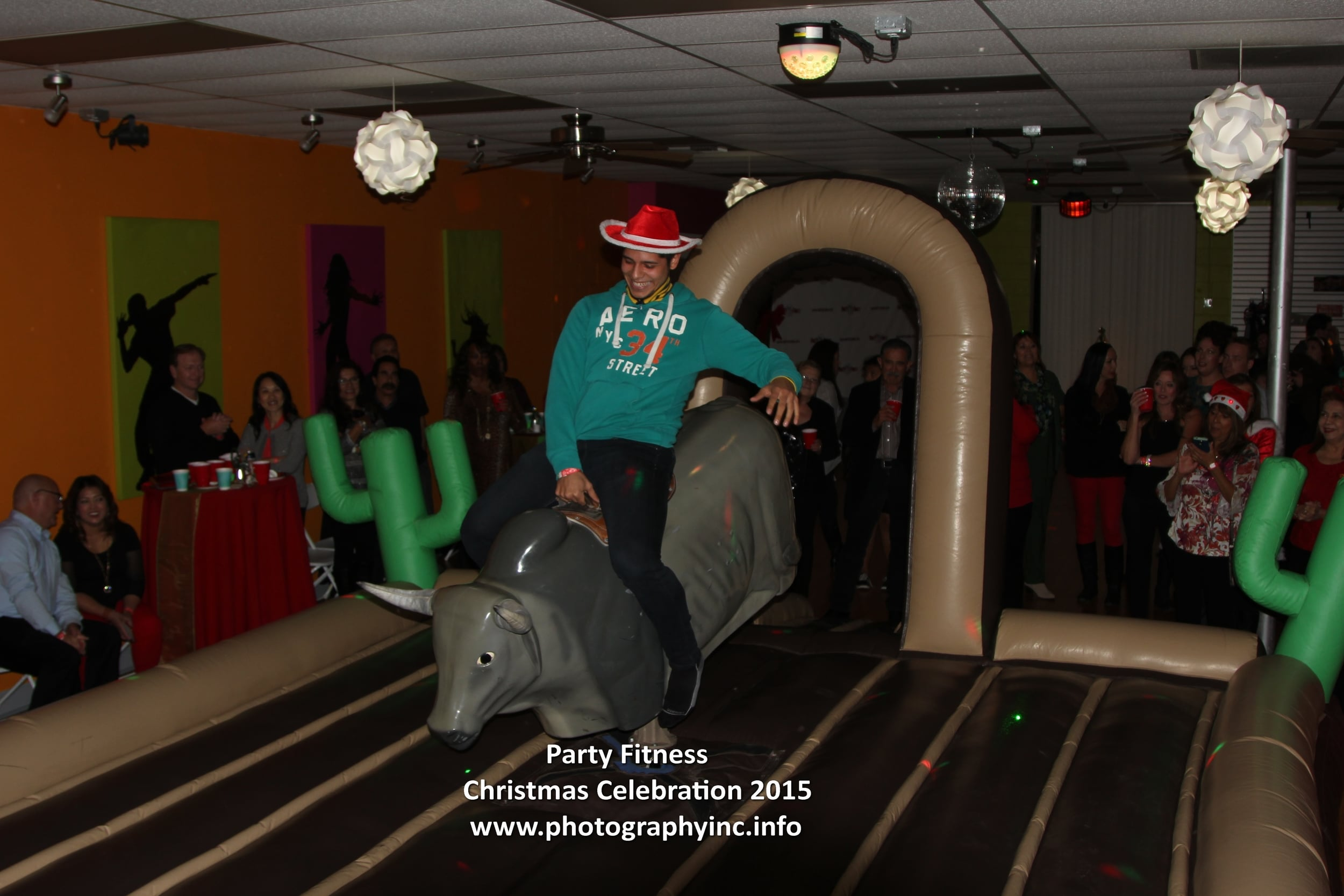 Party Fitness Christmas Party 2015