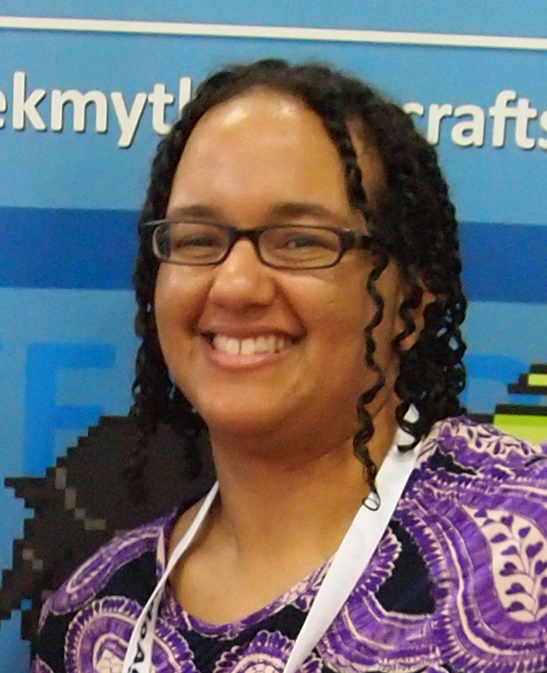 Vil Brabson    CDO   Newly appointed CDO of Skull Fire Games, Vil Brabson brings to the table with her years of web design experiences. Talented artist and entrepreneur in her own right,Vil is the successful owner and founder of Geek Mythology Crafts.