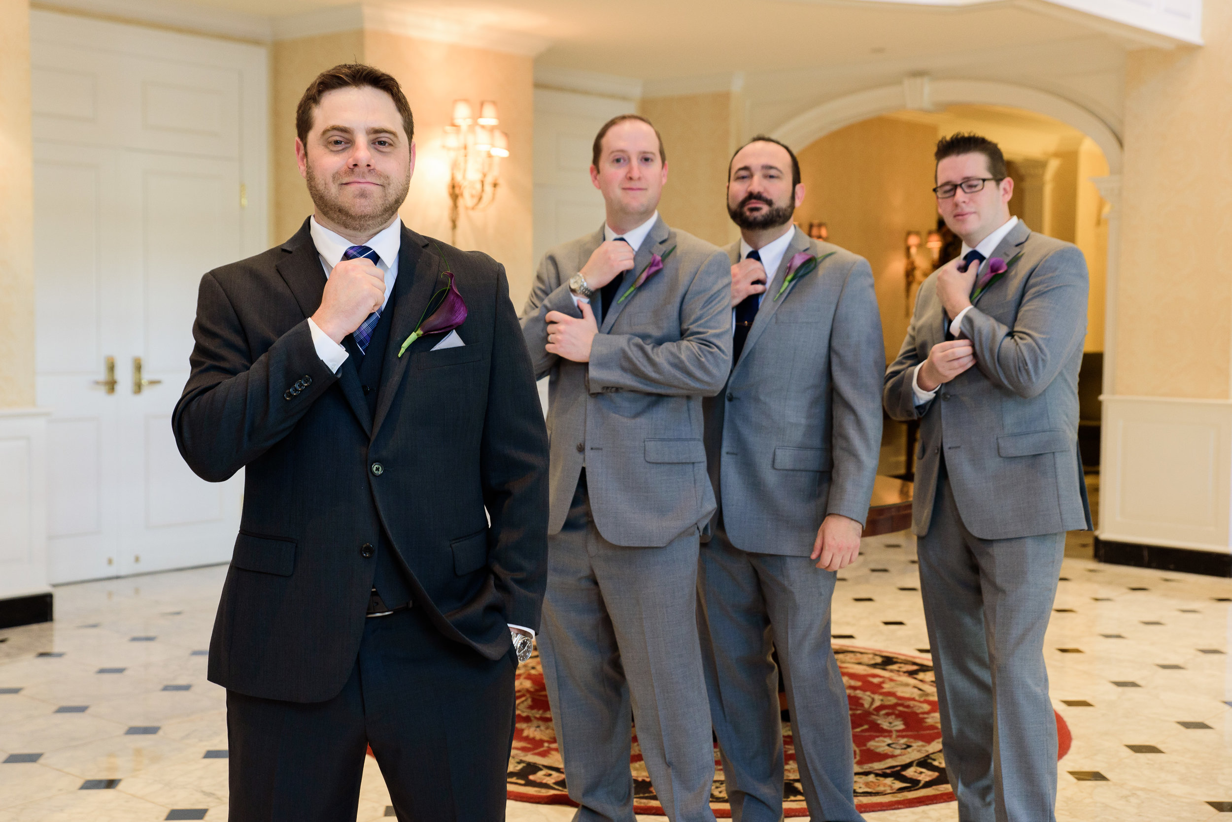 Groom and groomsmen photos - DC