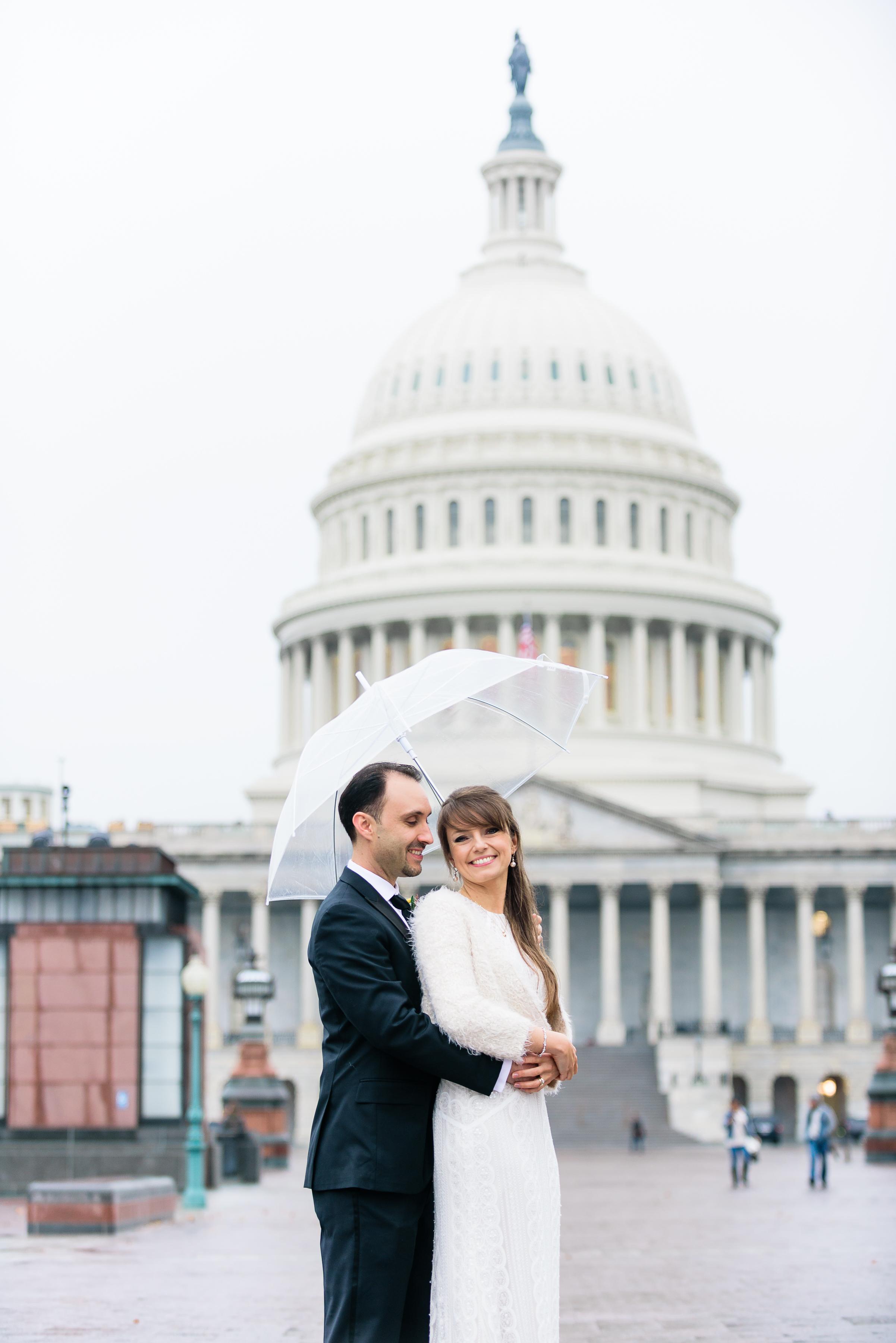 Capitol Hill Building DC wedding photos