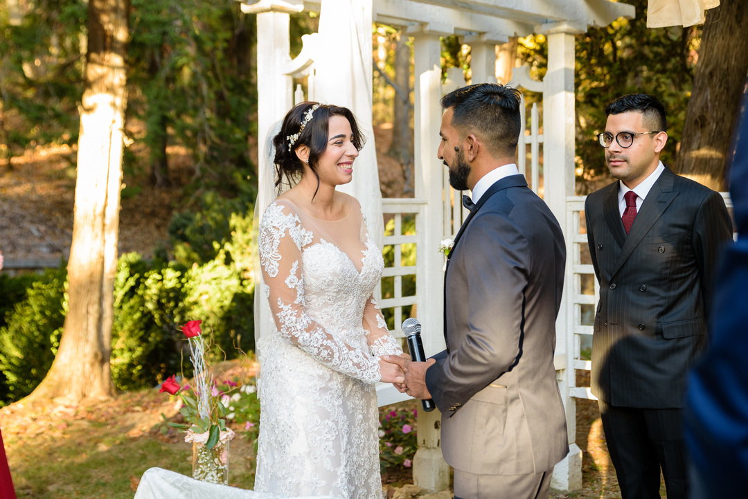 Strong Mansion Wedding Ceremony