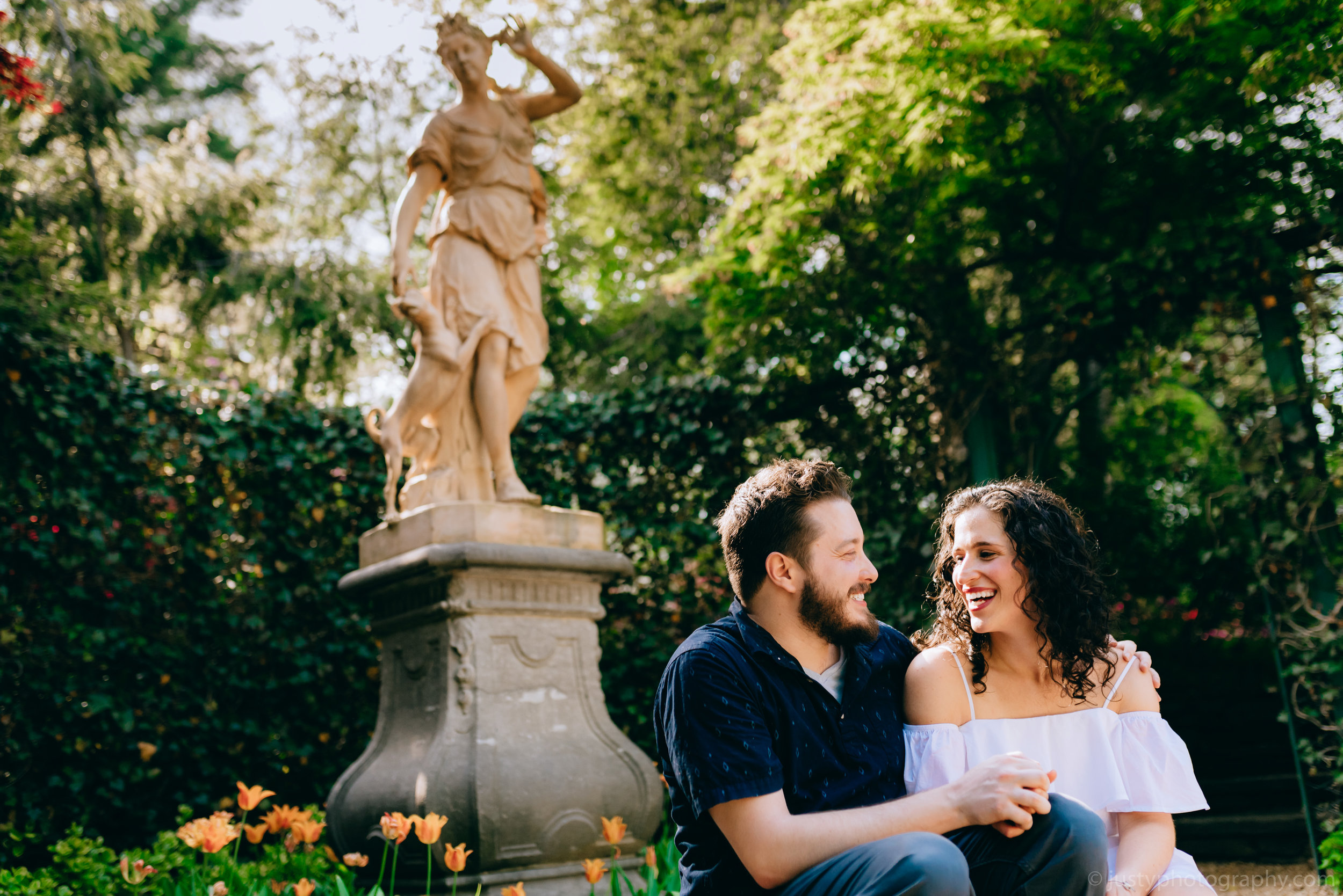 Hillwood Estate Engagement Photos-.jpg