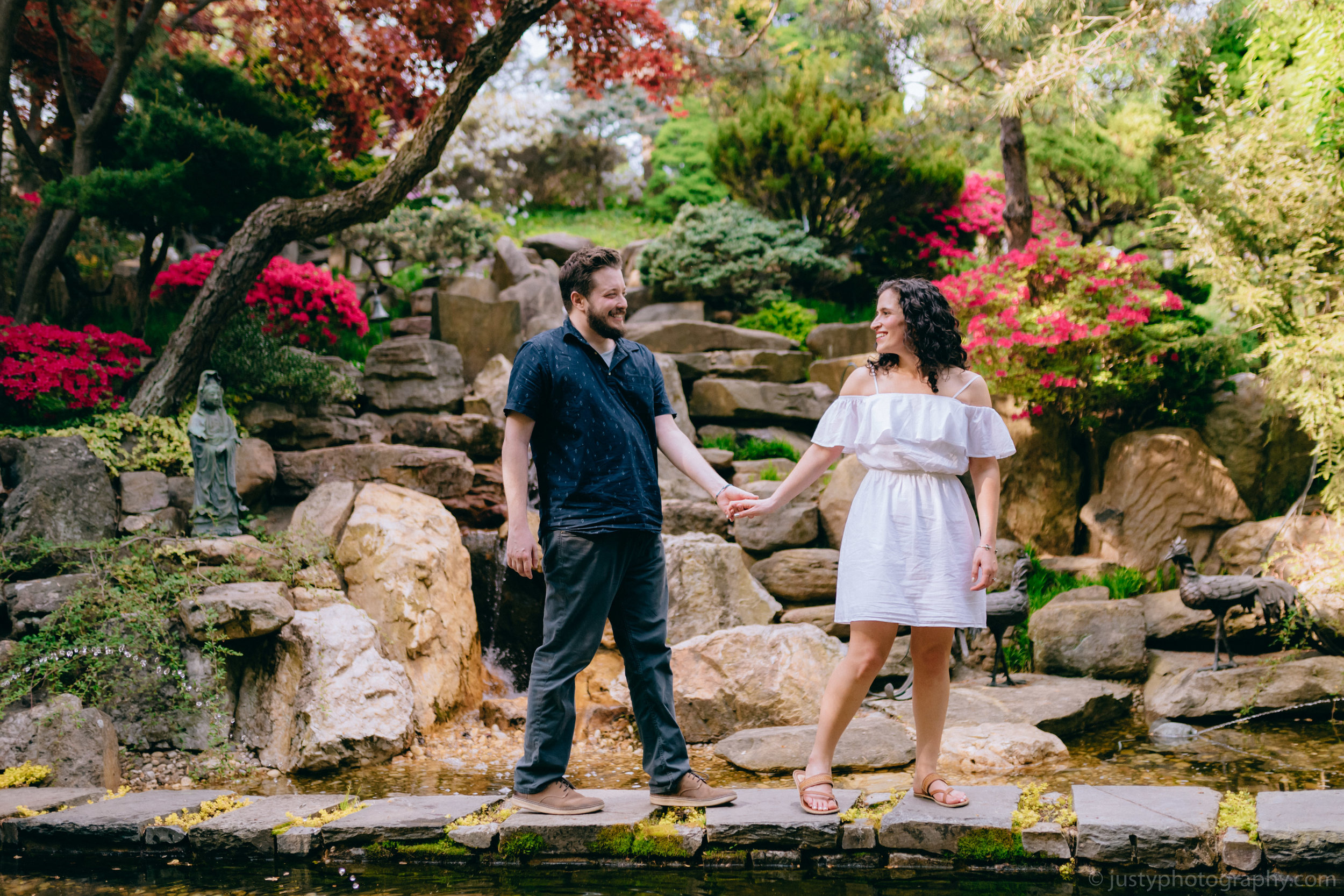 Hillwood Estate Engagement Photos-6338.jpg