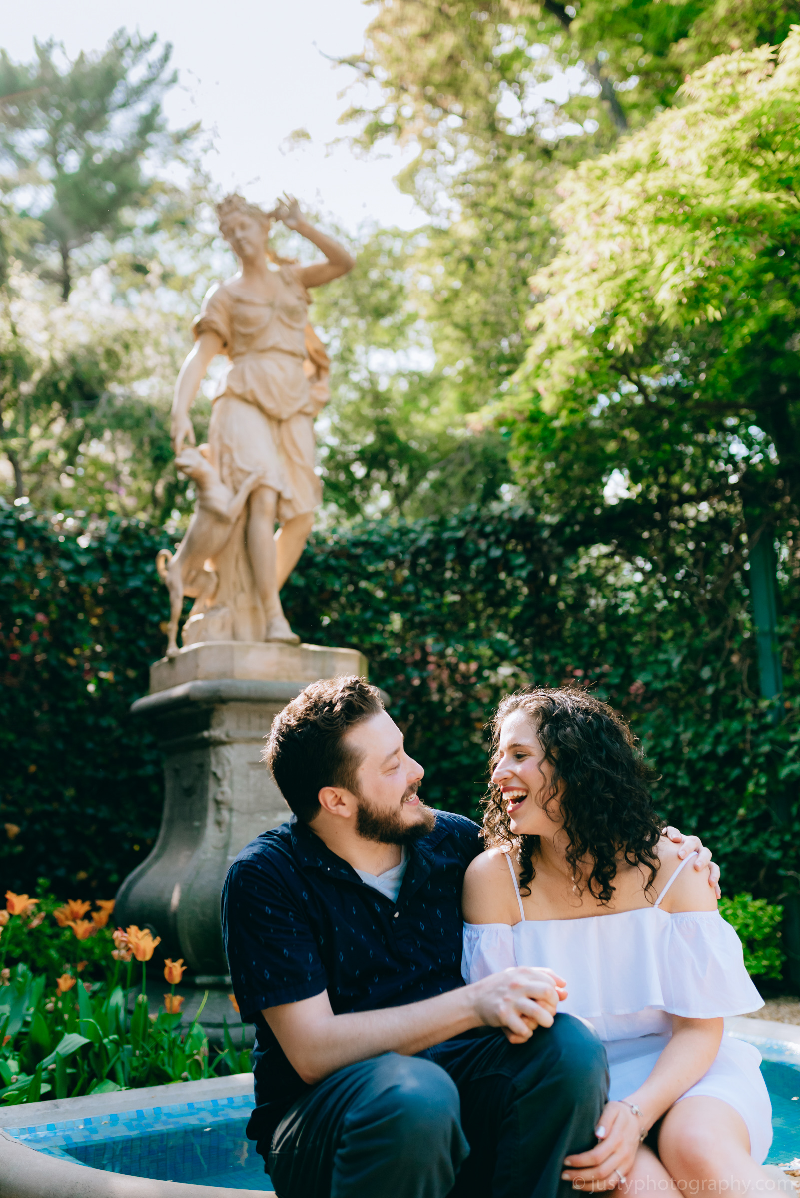 Hillwood Estate Engagement Photos-6012.jpg
