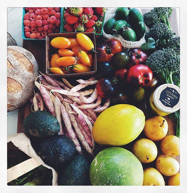 Saturday market haul 💚