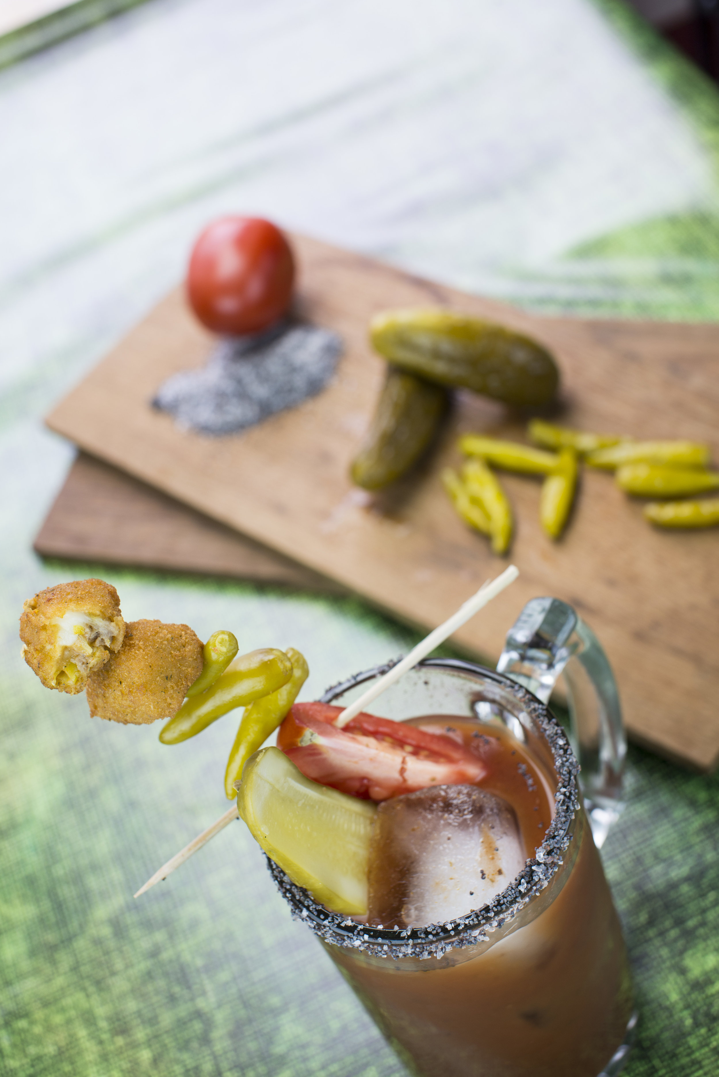Pepperoncini Bite: Chicago-Style Bloody Mary