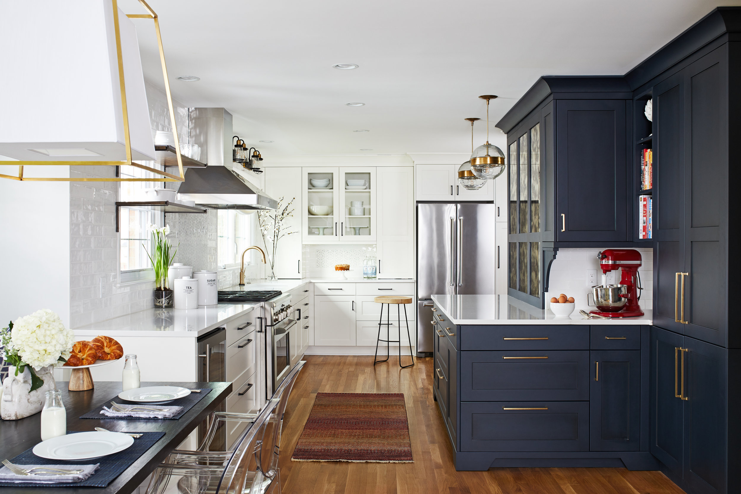 This client's highly organized Baker's Kitchen made it in to the Top Ten Kitchens of 2018 on Houzz, and we couldn't be more thrilled.